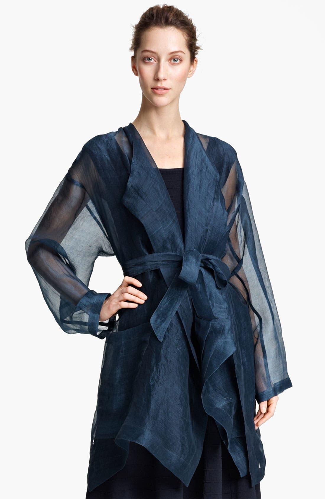 Alternate Image 2  - Donna Karan Collection Coat & Dress