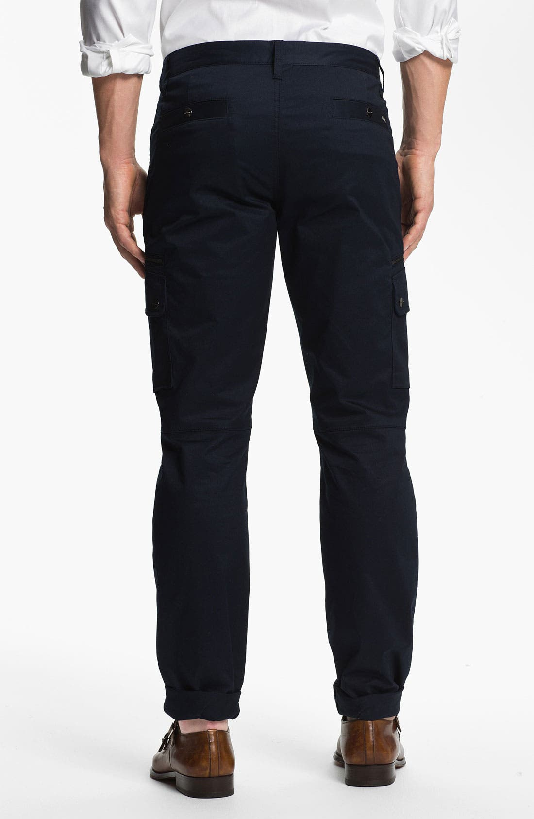 Alternate Image 2  - Michael Kors Slim Leg Utility Pants