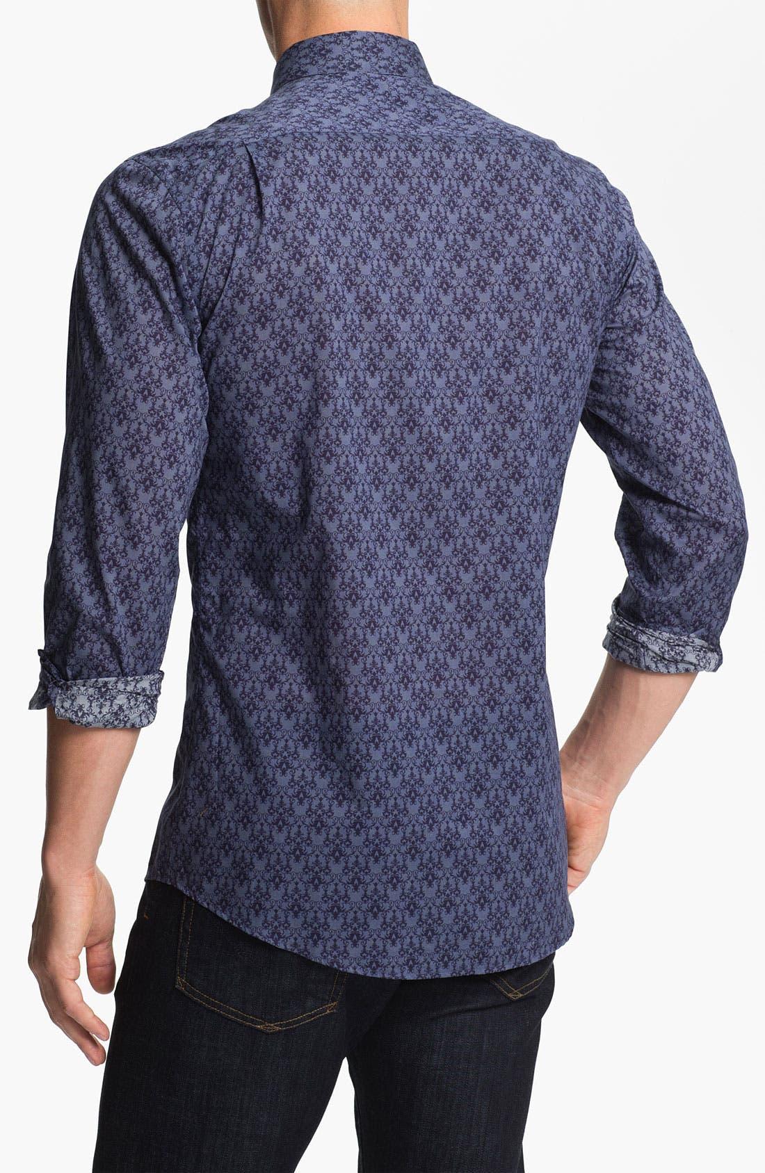 Alternate Image 2  - Versace Woven Sport Shirt