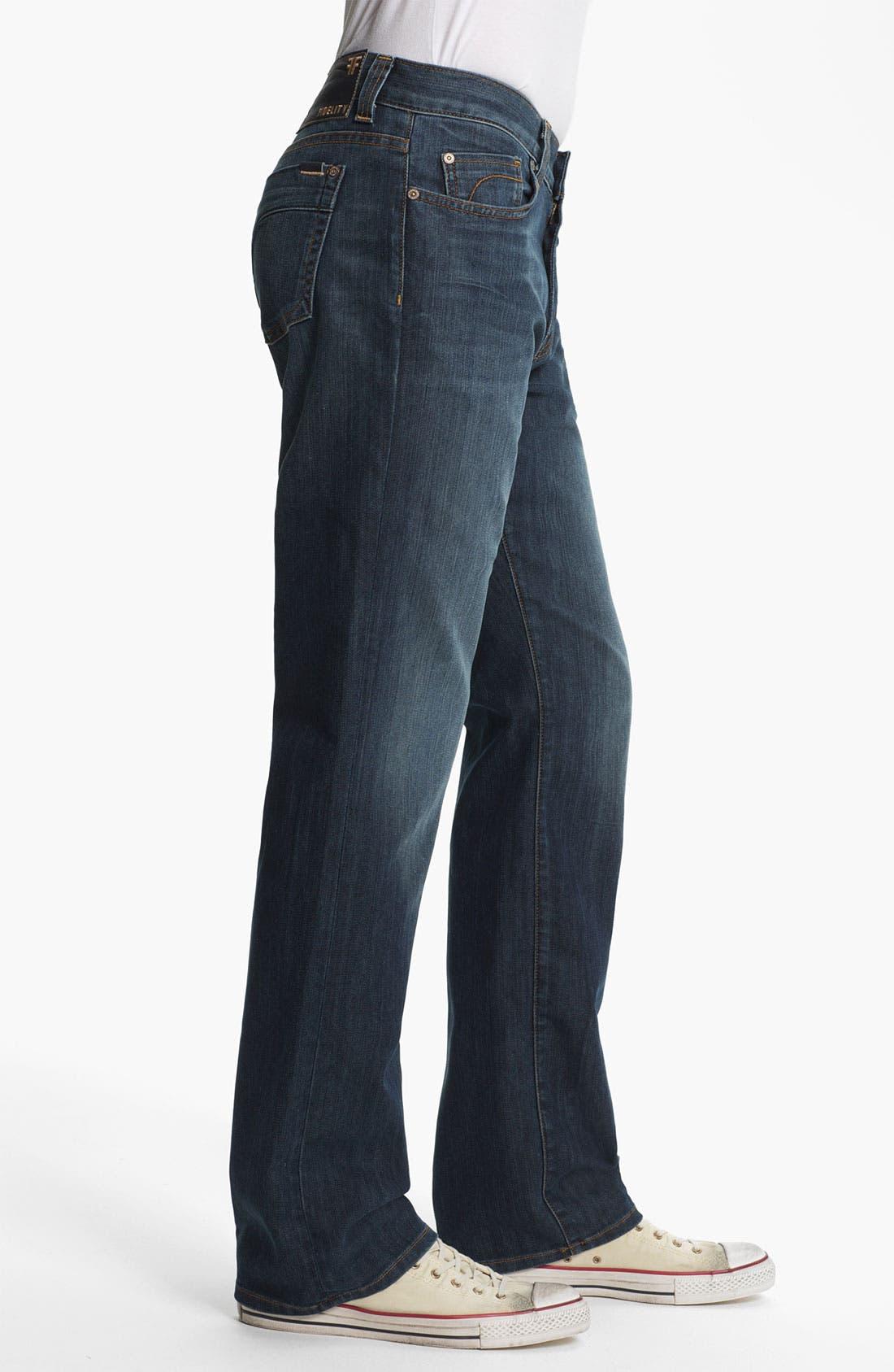 Alternate Image 3  - Fidelity Denim '5011' Straight Leg Jeans (Trigger Medium)