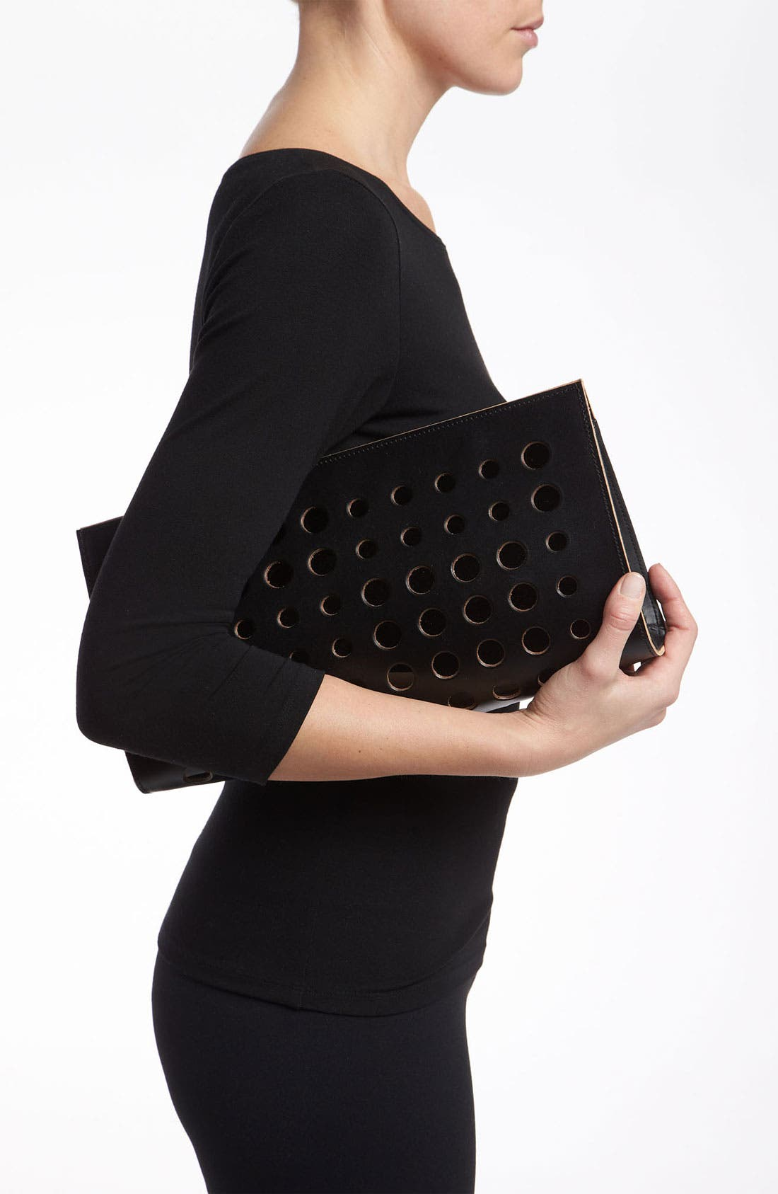 Alternate Image 2  - Marni Polka Dot Leather Clutch