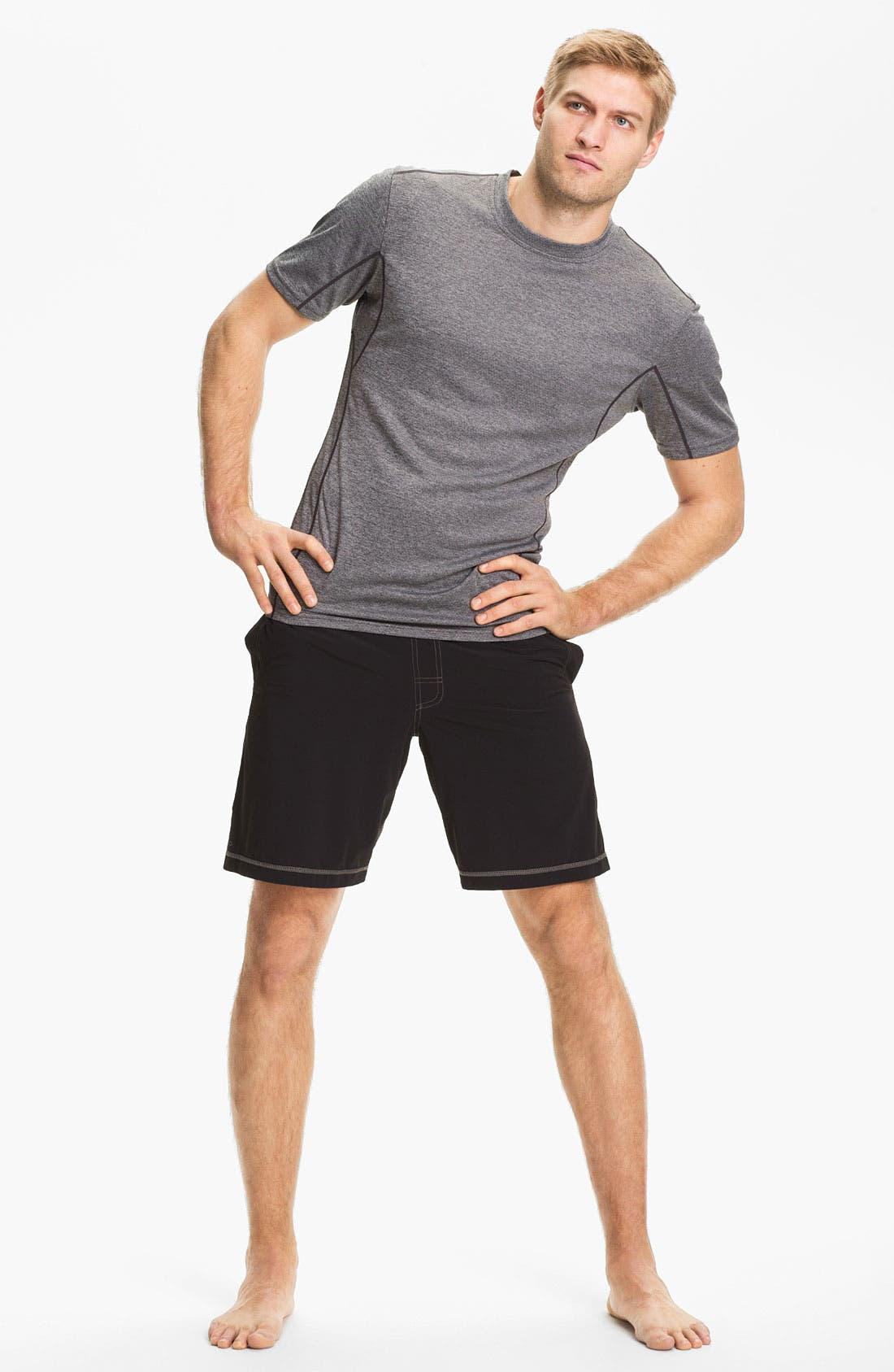 Alternate Image 4  - prAna 'Transit' Stretch Woven Water Resistant Shorts