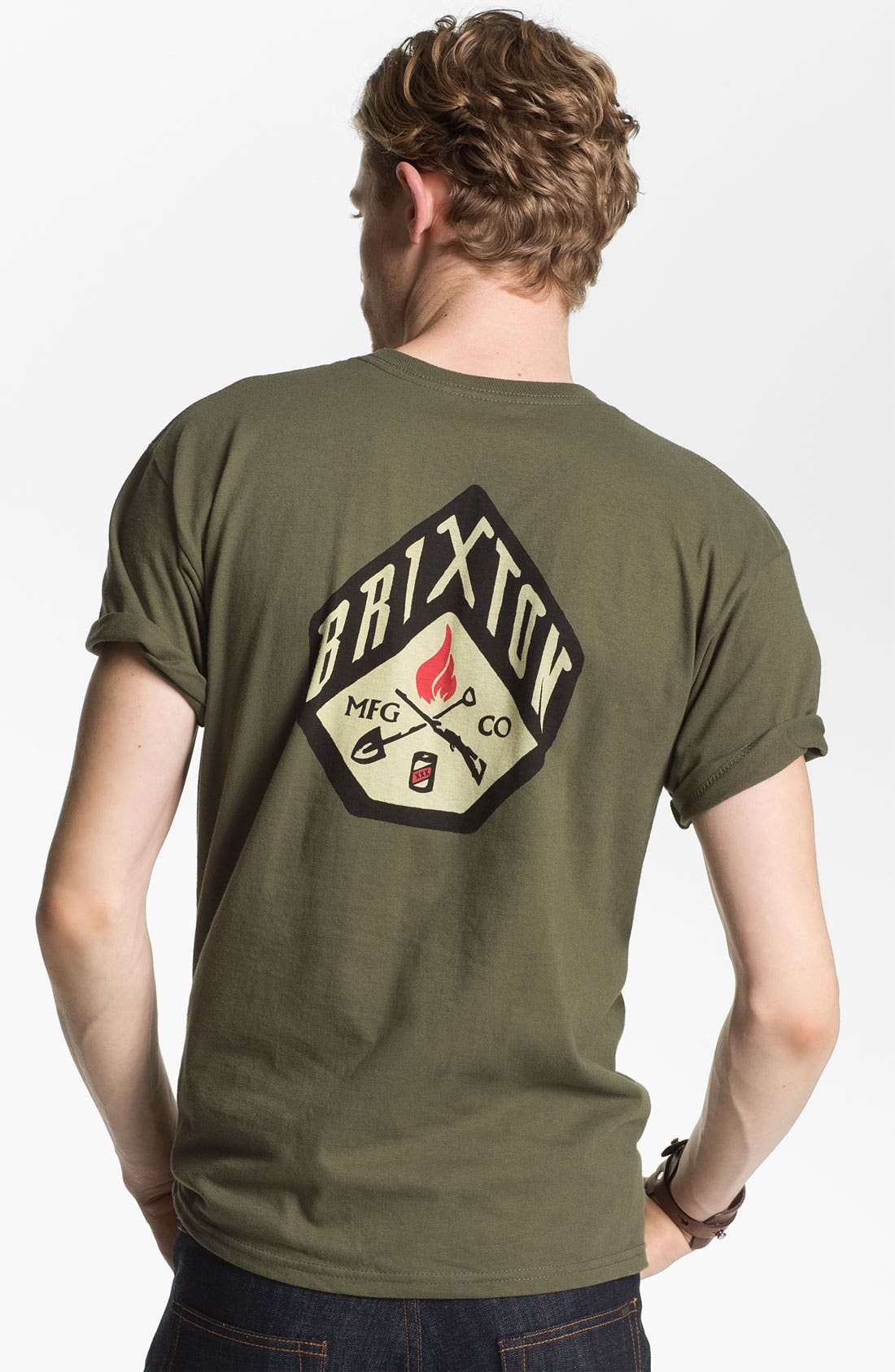 Alternate Image 2  - Brixton 'Stratton' Graphic T-Shirt