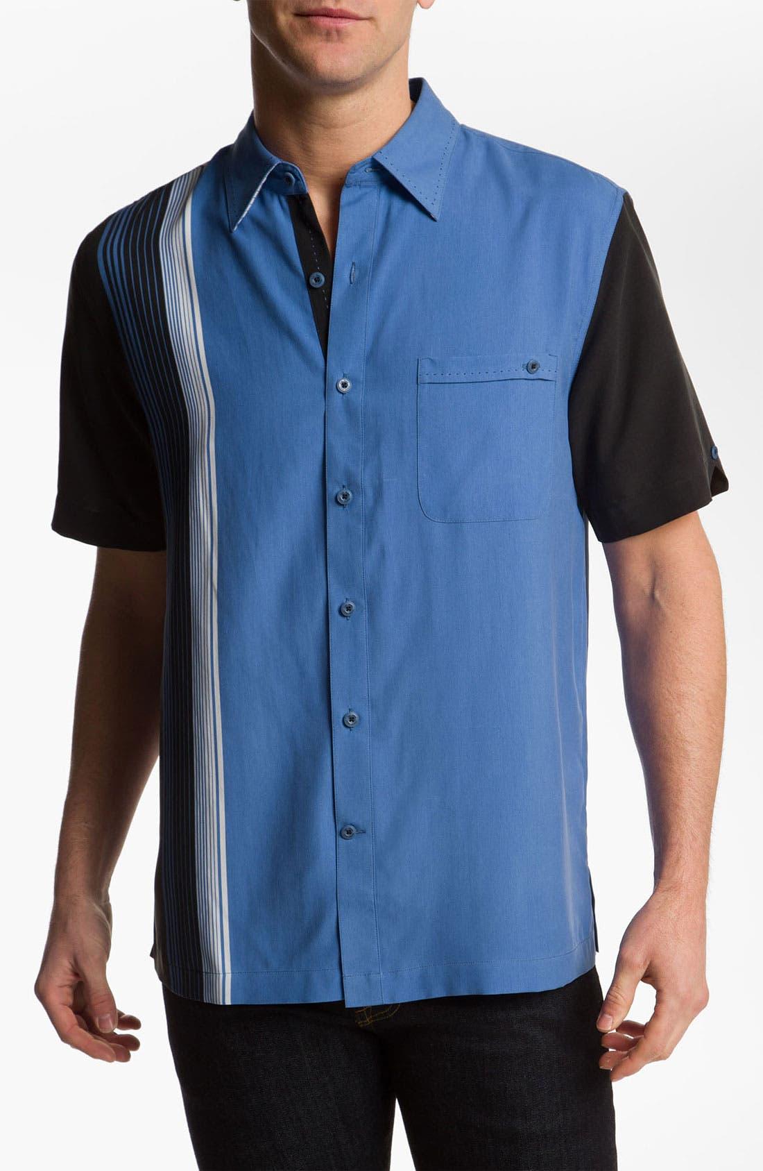 Alternate Image 1 Selected - Nat Nast 'Straight Up' Silk Sport Shirt