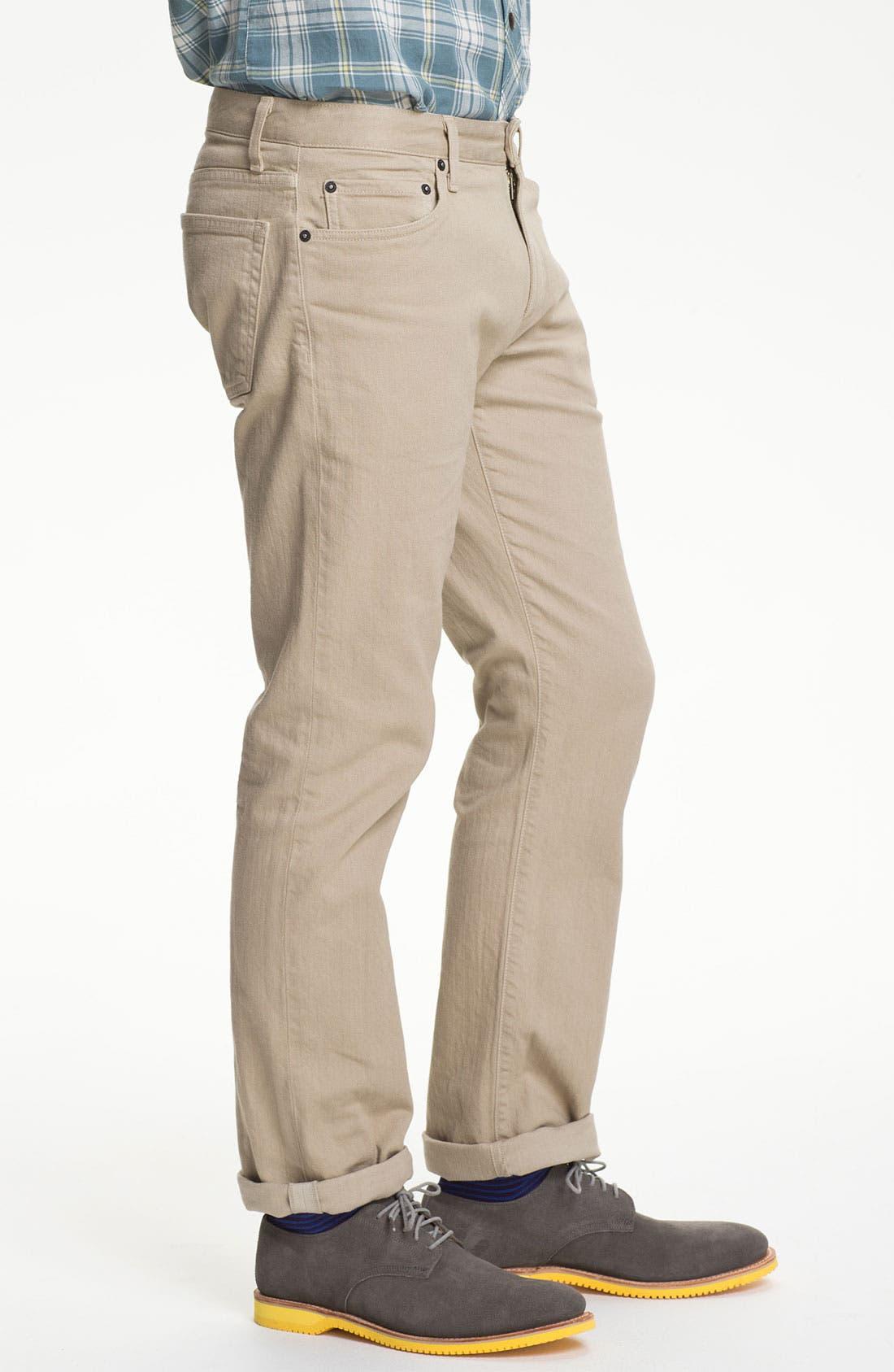 Alternate Image 3  - Bonobos 'Travel Jean' Straight Leg Jeans