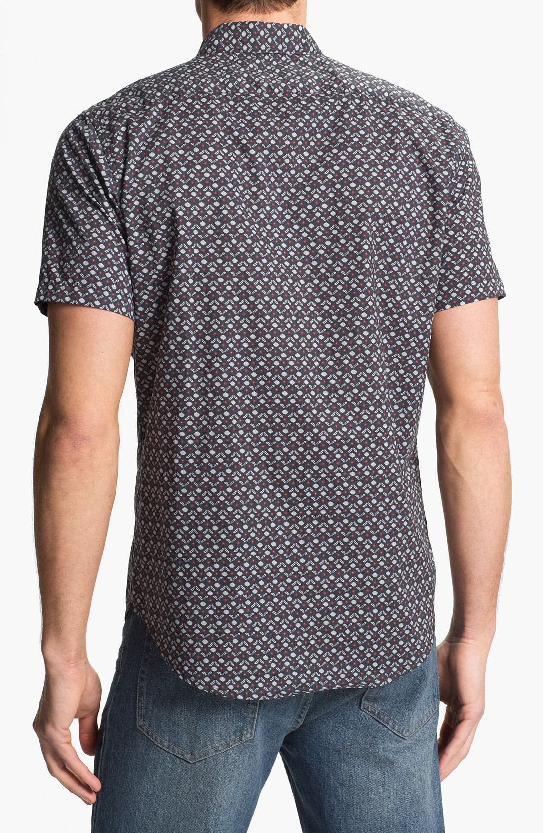 Alternate Image 2  - RVCA 'Dimensions' Print Woven Shirt