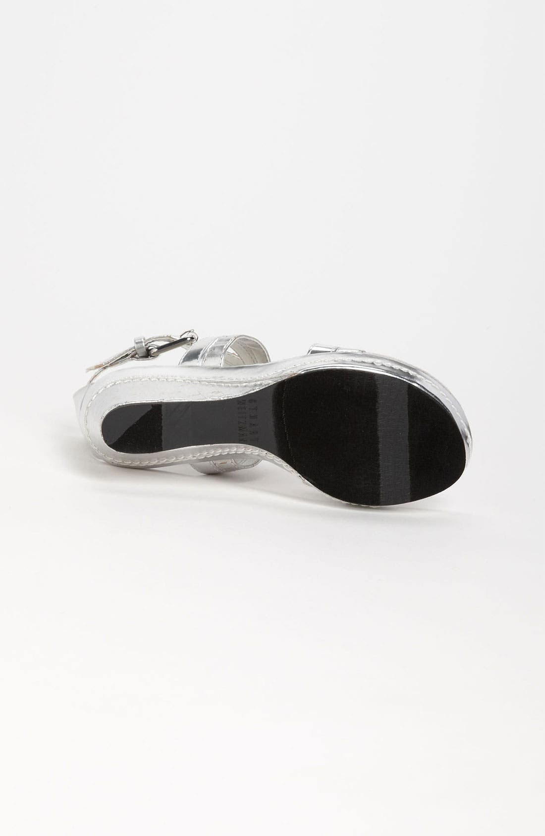 Alternate Image 4  - Stuart Weitzman 'Alabaster' Sandal (Little Kid & Big Kid)