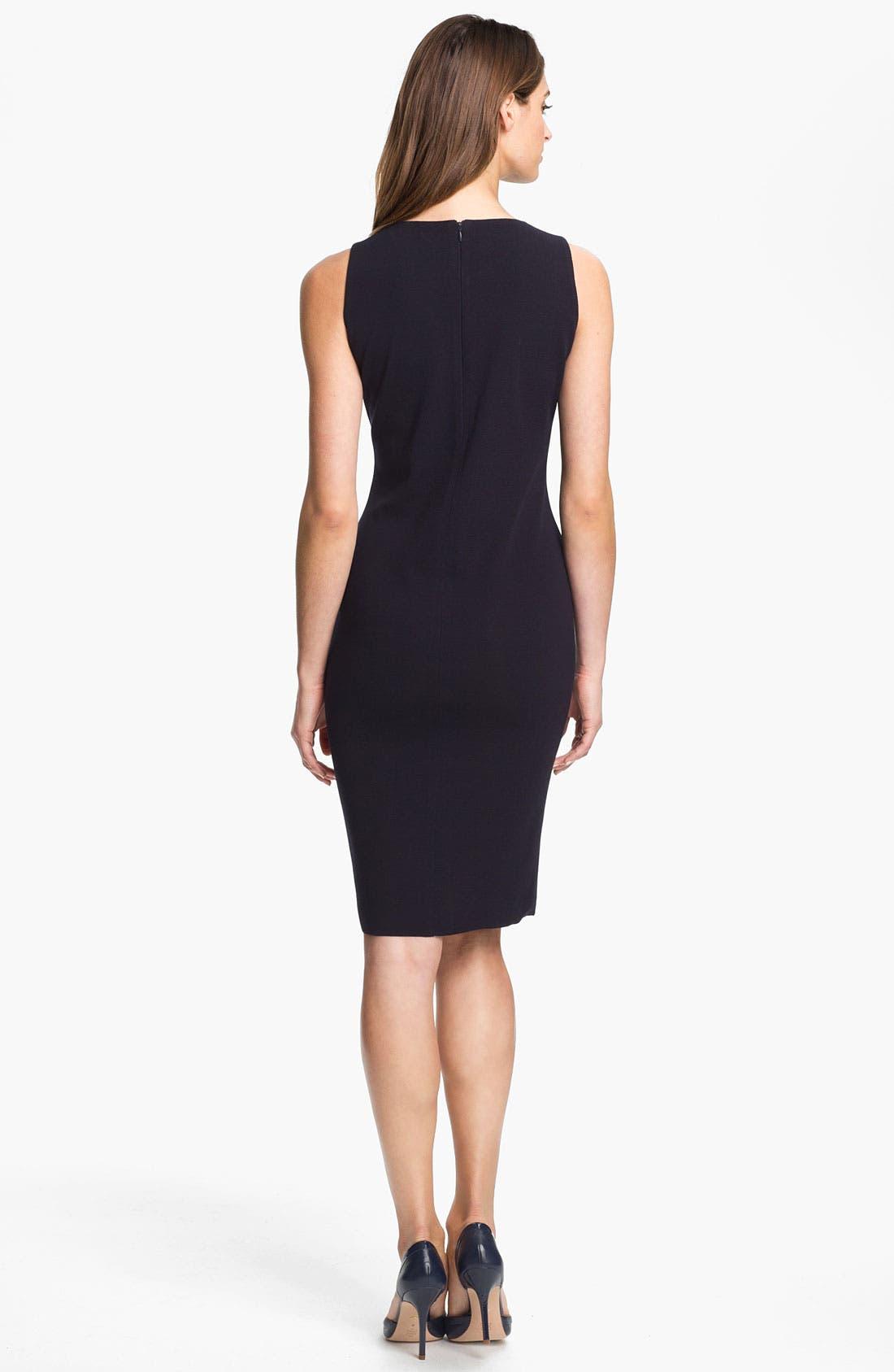 Alternate Image 2  - Exclusively Misook 'Alex' Sheath Dress (Petite) (Online Exclusive)