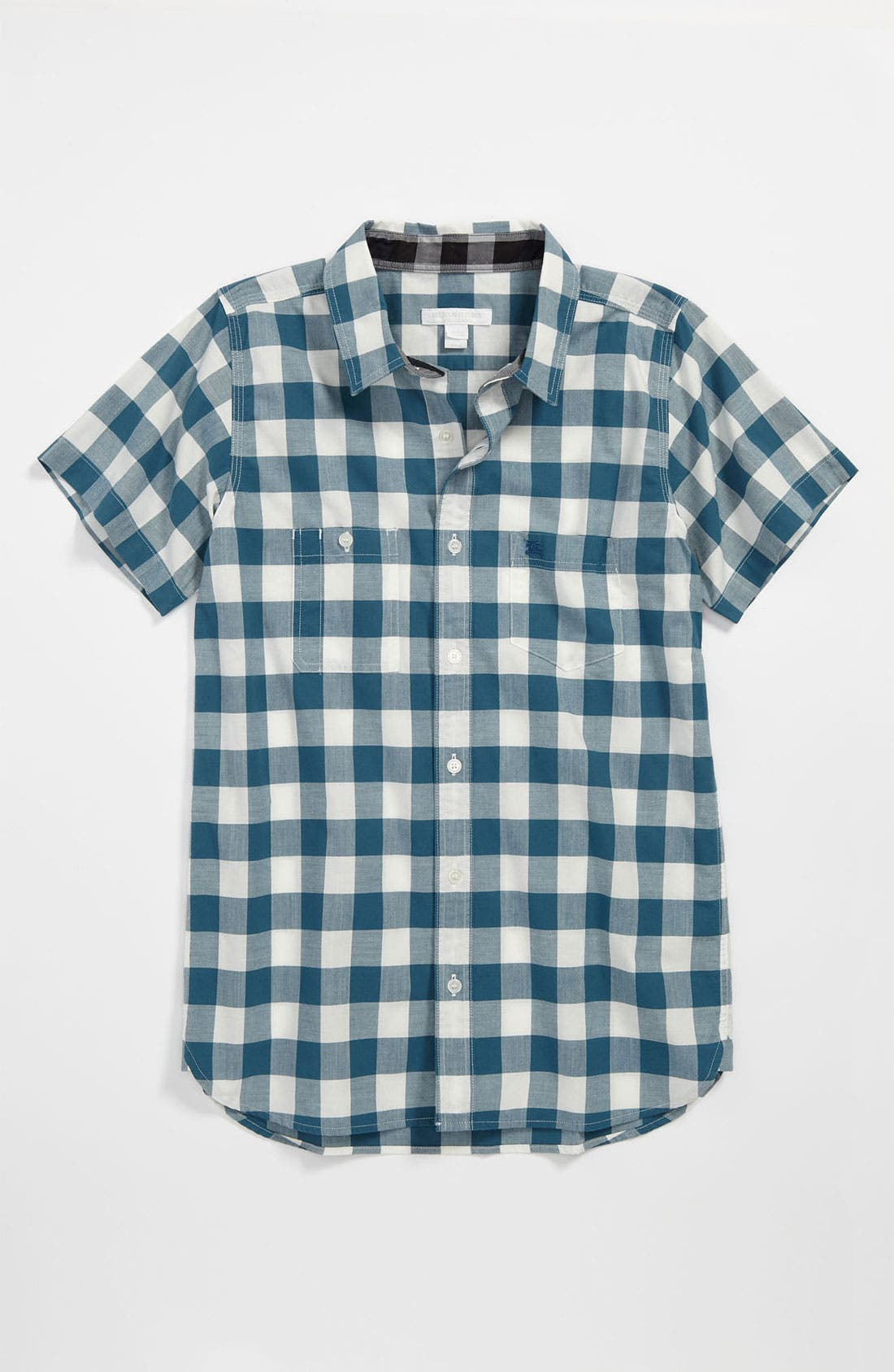 Alternate Image 1 Selected - Burberry 'Mini Rex' Woven Shirt (Little Boys & Big Boys)