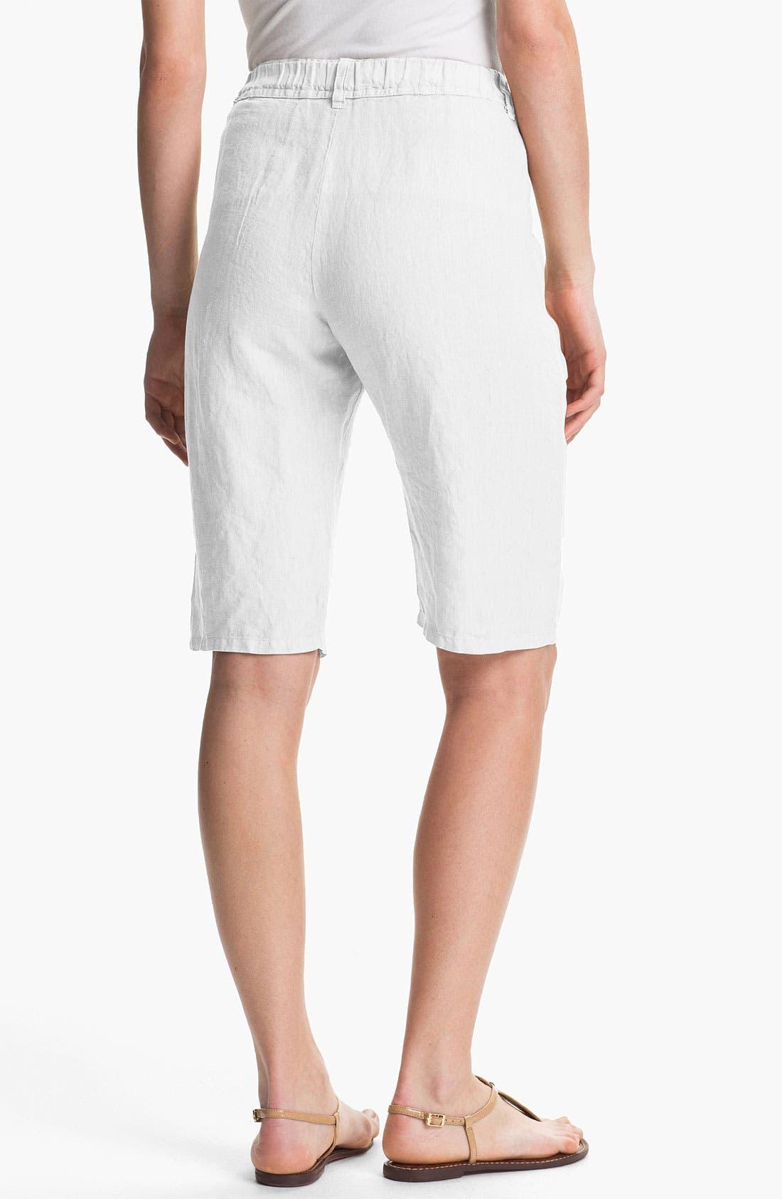 Alternate Image 2  - Nicki & Bell Linen Bermuda Shorts