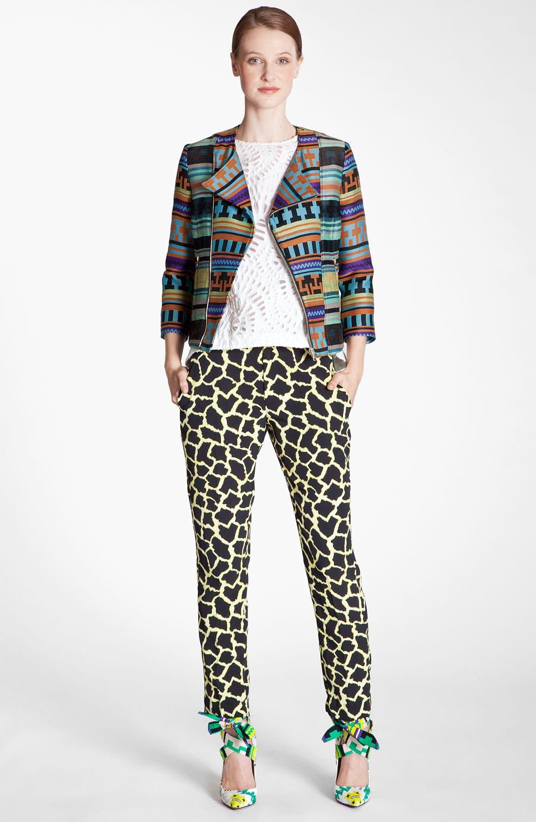 Alternate Image 4  - MSGM Giraffe Print Straight Leg Pants