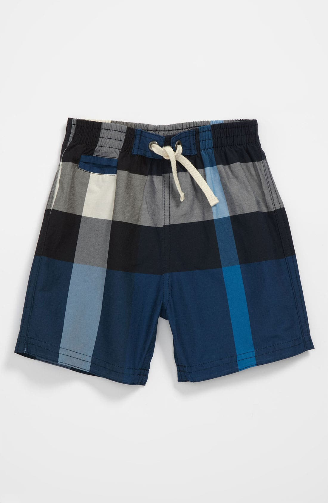 Main Image - Burberry 'Saxon' Swim Trunks (Baby)