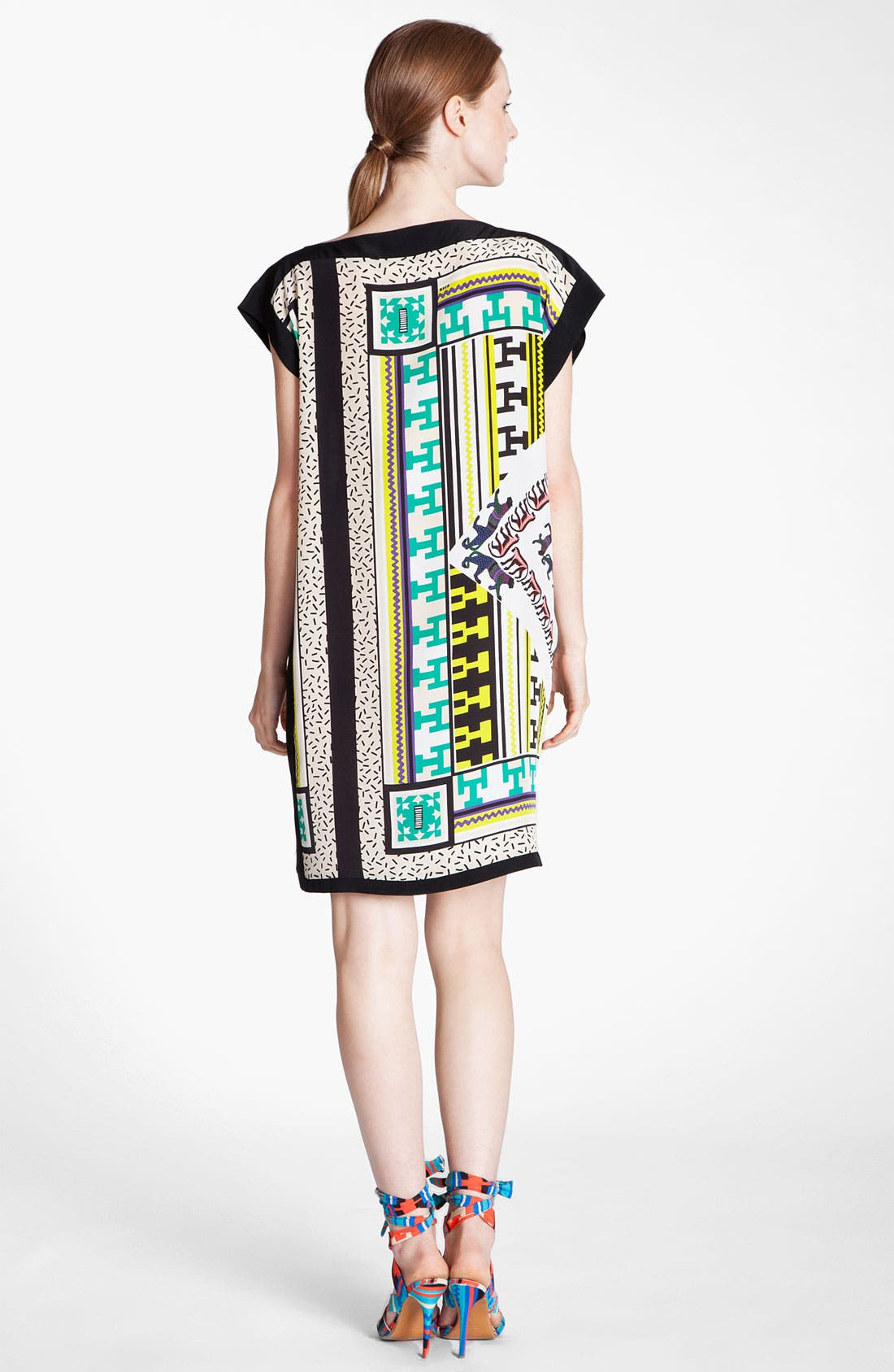 Alternate Image 4  - MSGM Belted Foulard Dress