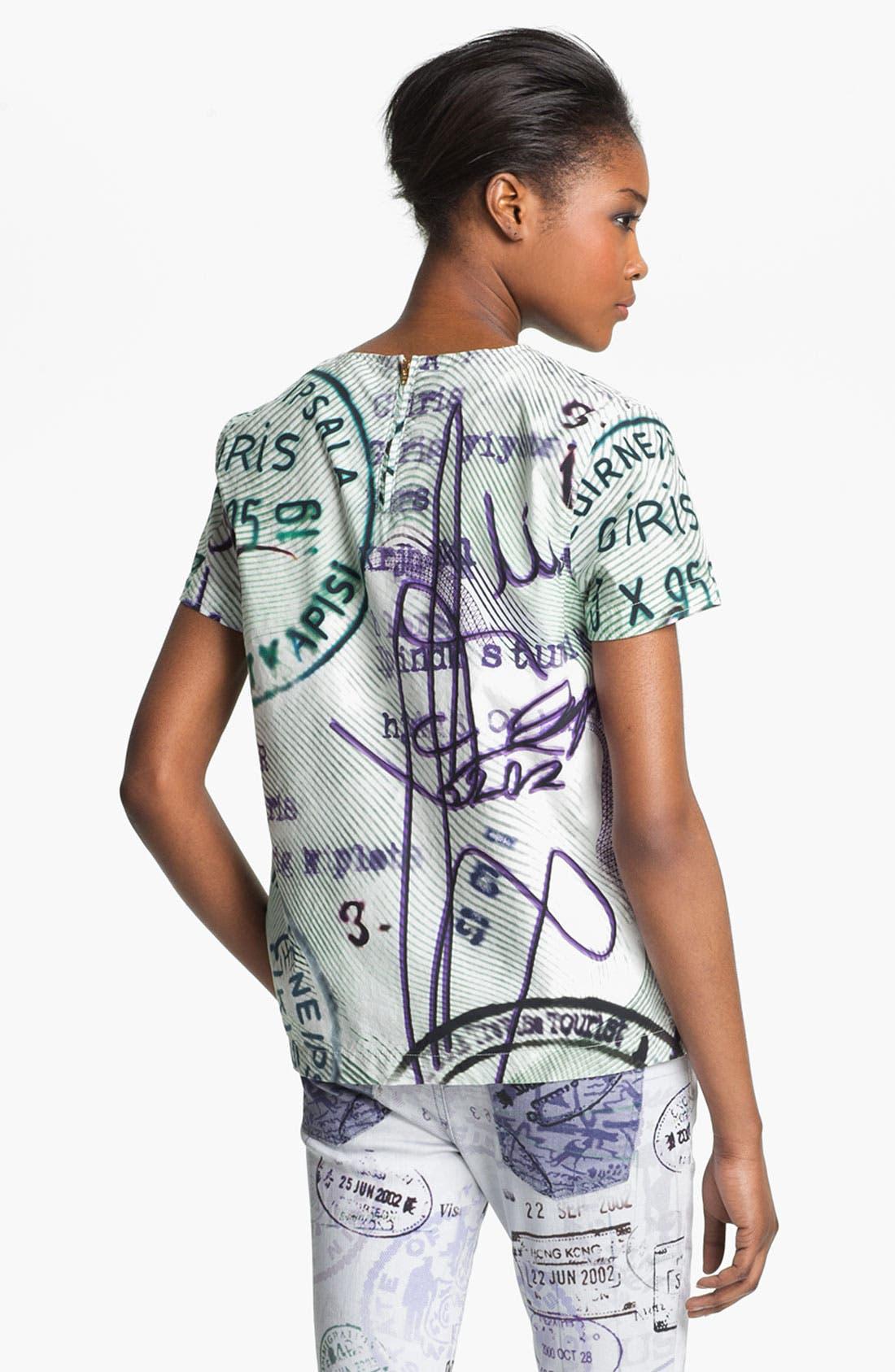Alternate Image 3  - Mary Katrantzou Current/Elliott 'The Boarding' Print Top