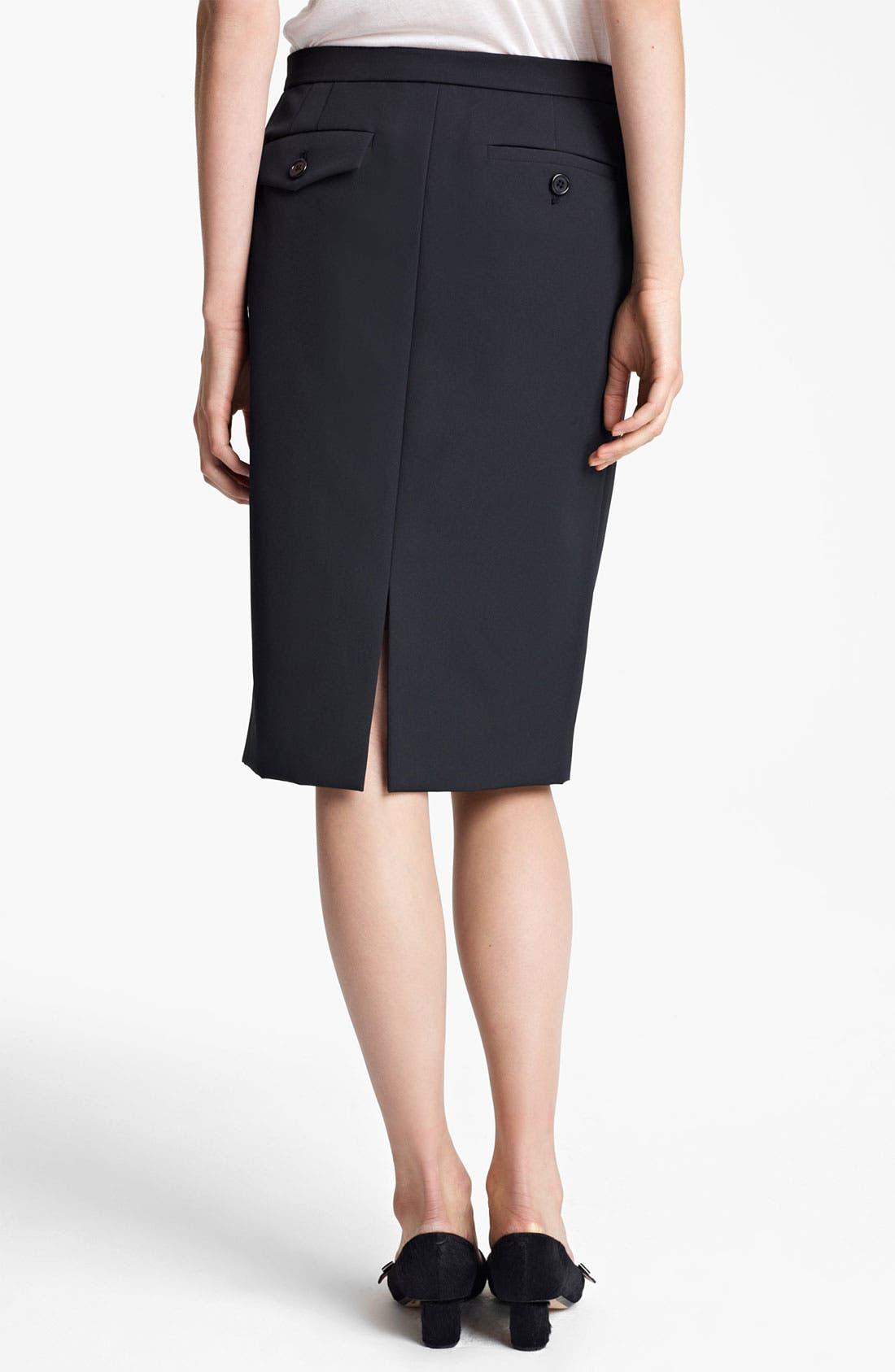 Alternate Image 2  - MARC JACOBS Techno Twill Skirt