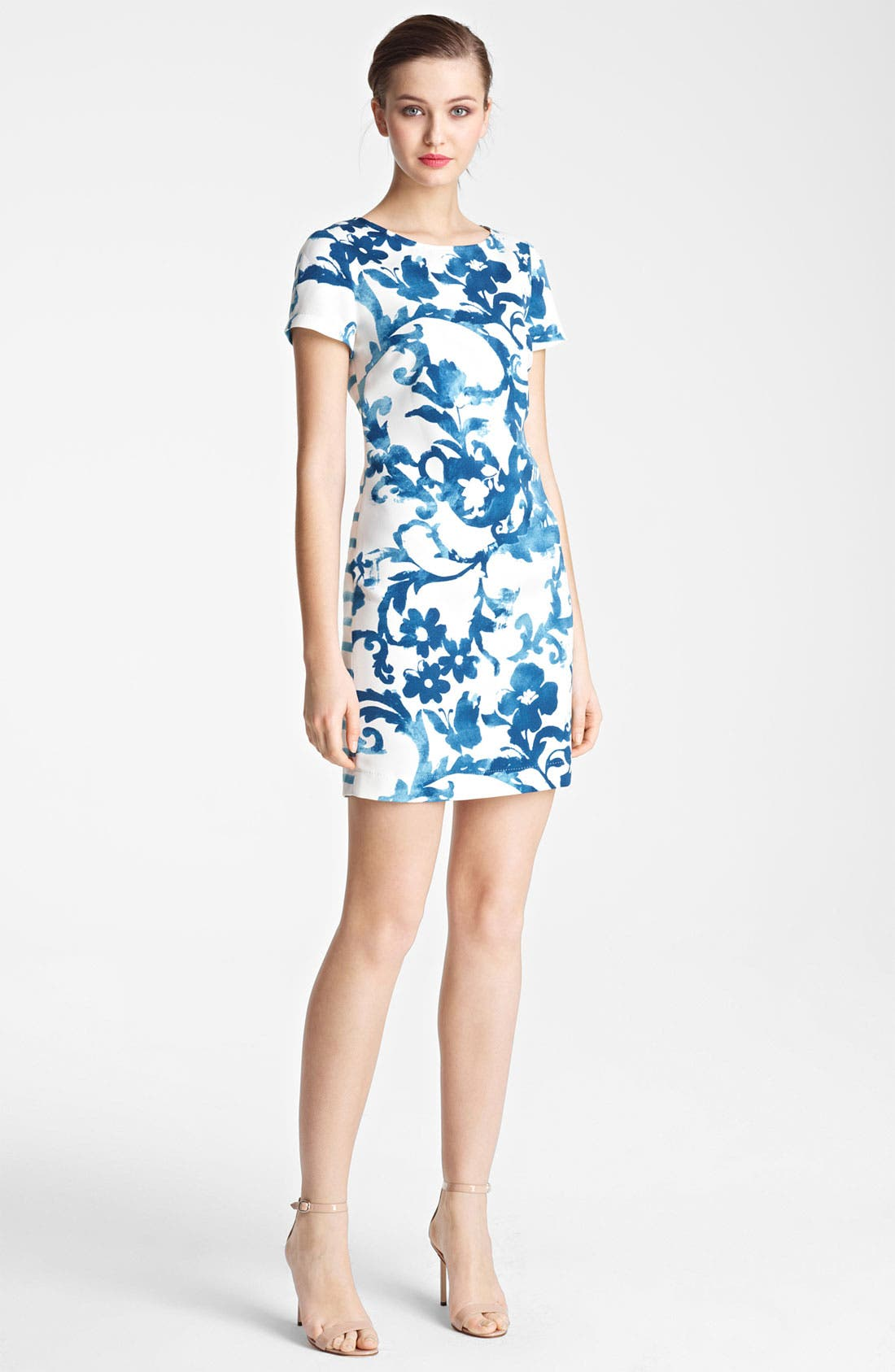 Alternate Image 1 Selected - Moschino Cheap & Chic Mix Print Dress