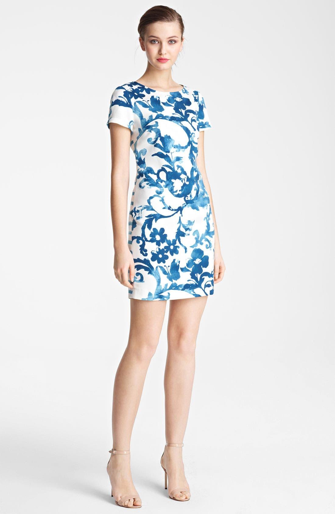 Alternate Image 1 Selected - Moschino Cheap & Chic Mix Print Dress