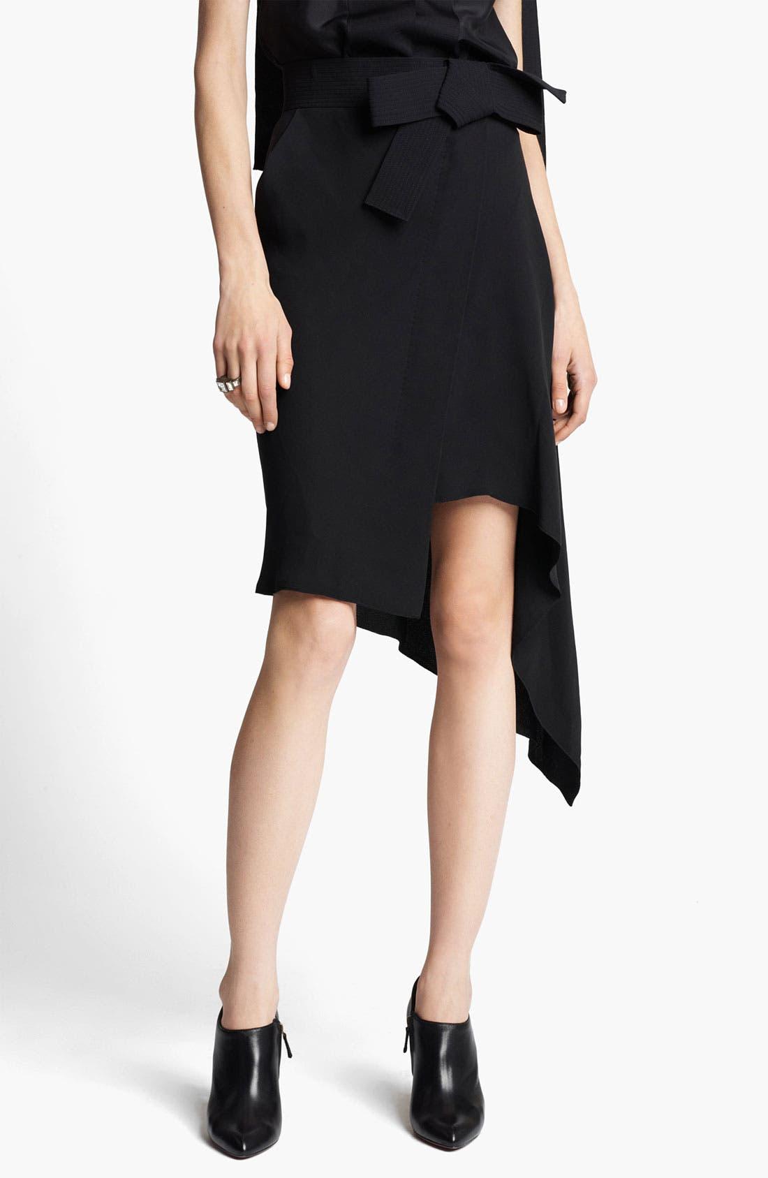 Main Image - Lanvin Asymmetrical Wrap Skirt