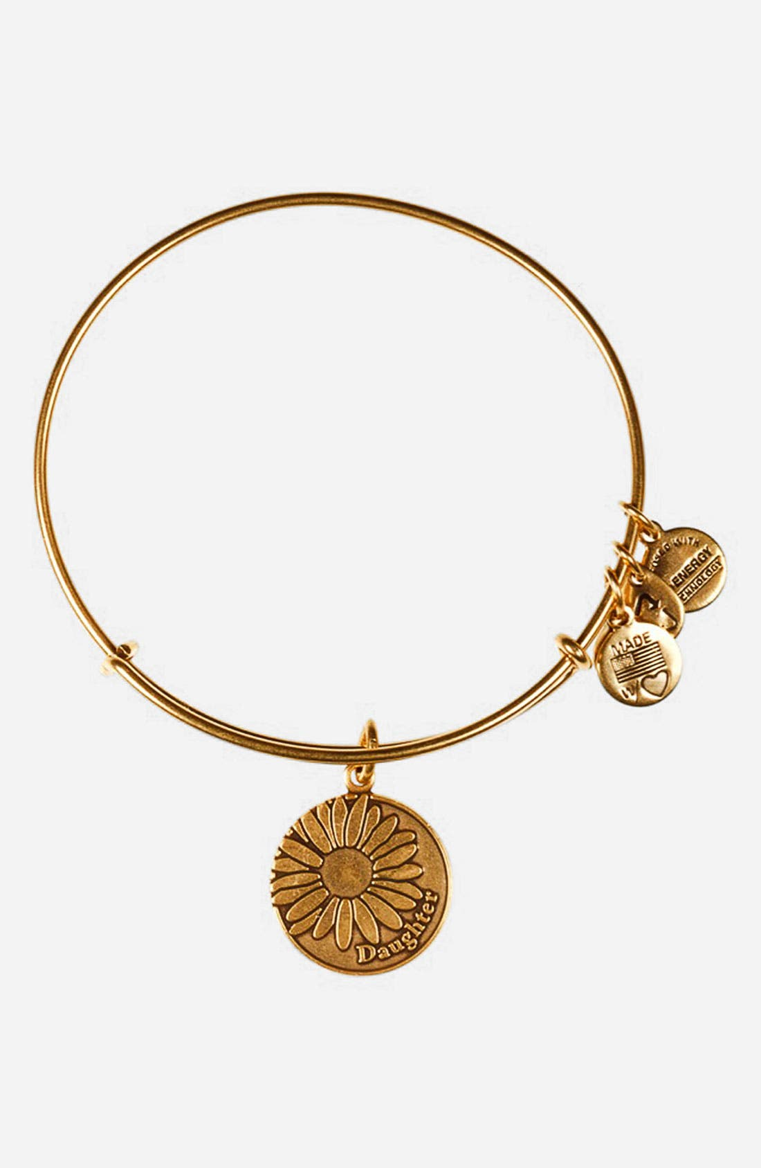Main Image - Alex and Ani 'Daughter' Expandable Wire Bangle