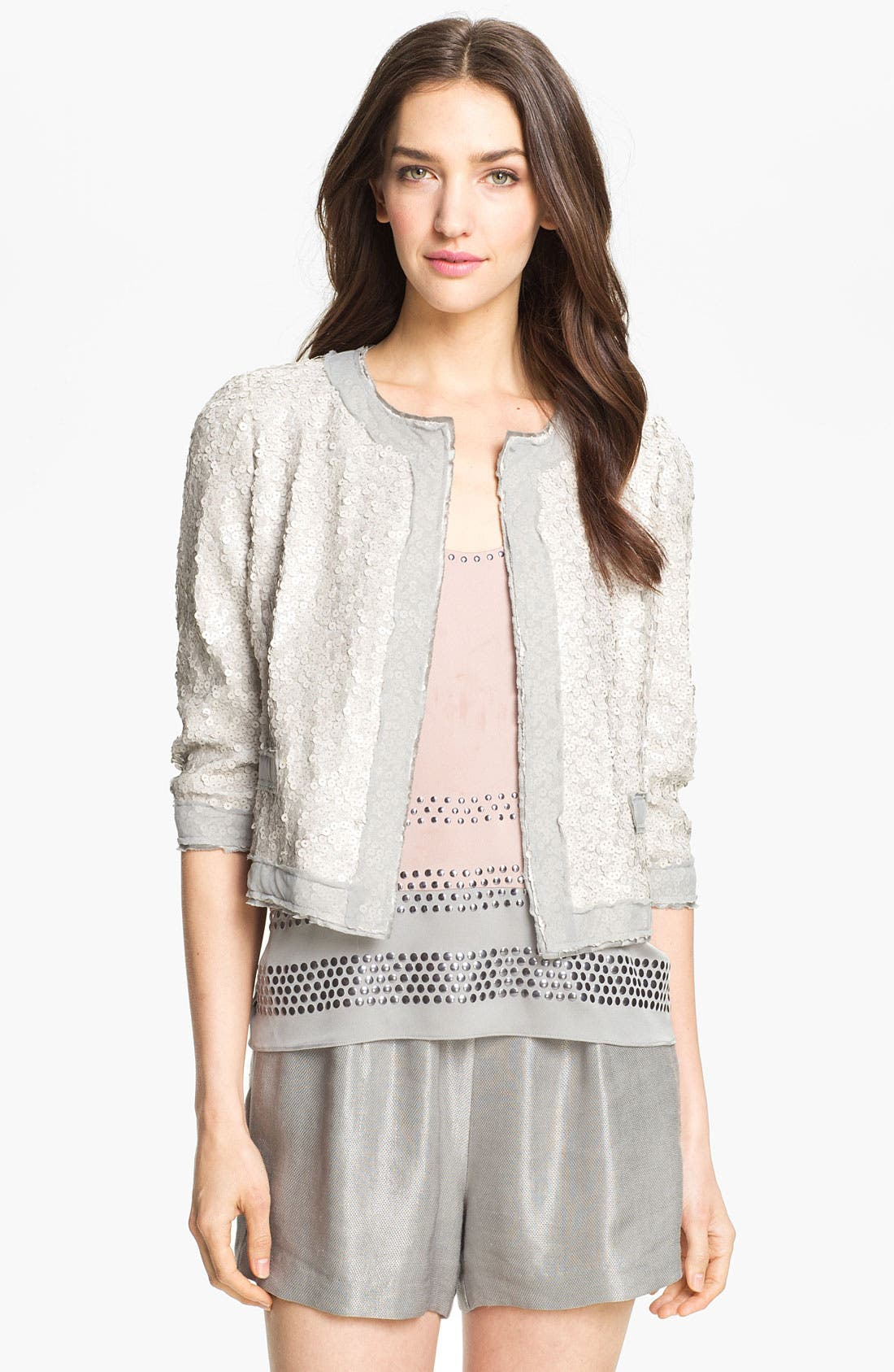 Alternate Image 1 Selected - Milly 'Adriana' Sequin Jacket