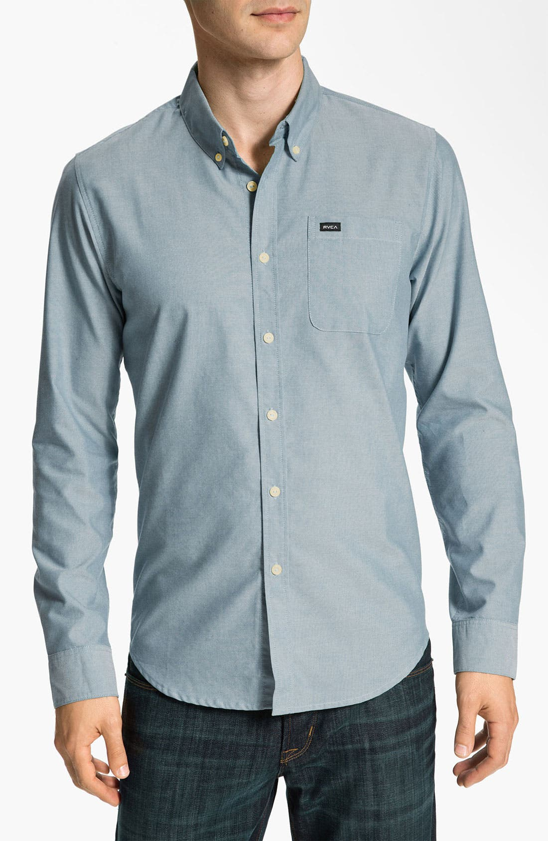Main Image - RVCA 'That'll Do' Oxford Shirt
