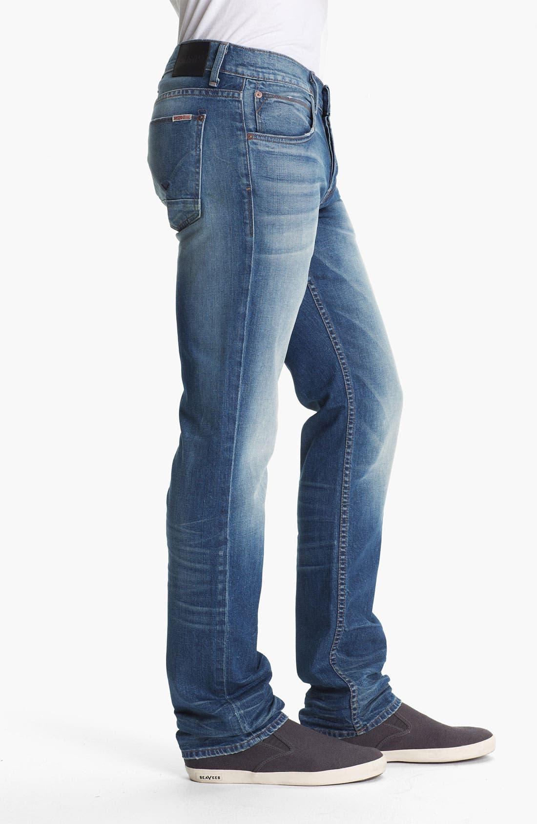 Alternate Image 3  - Hudson Jeans 'Byron' Straight Leg Jeans (Seether)
