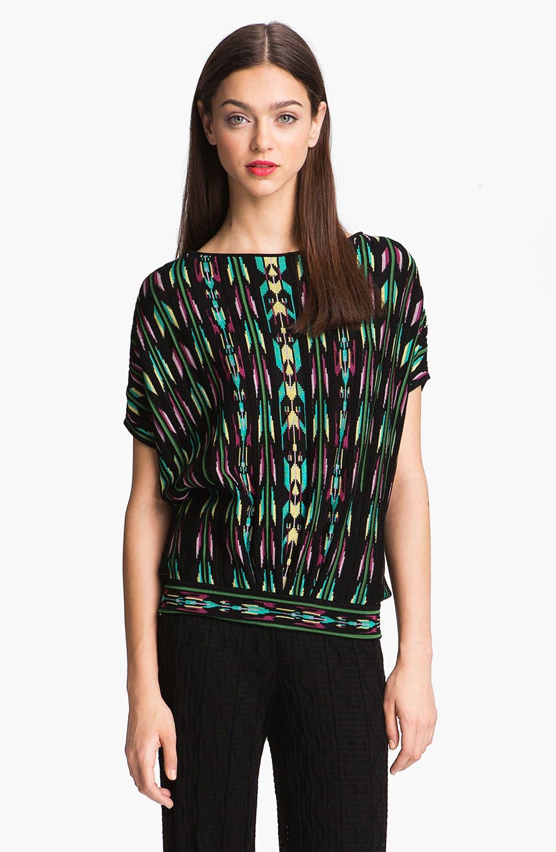 Alternate Image 2  - M Missoni Aztec Print Knit Top