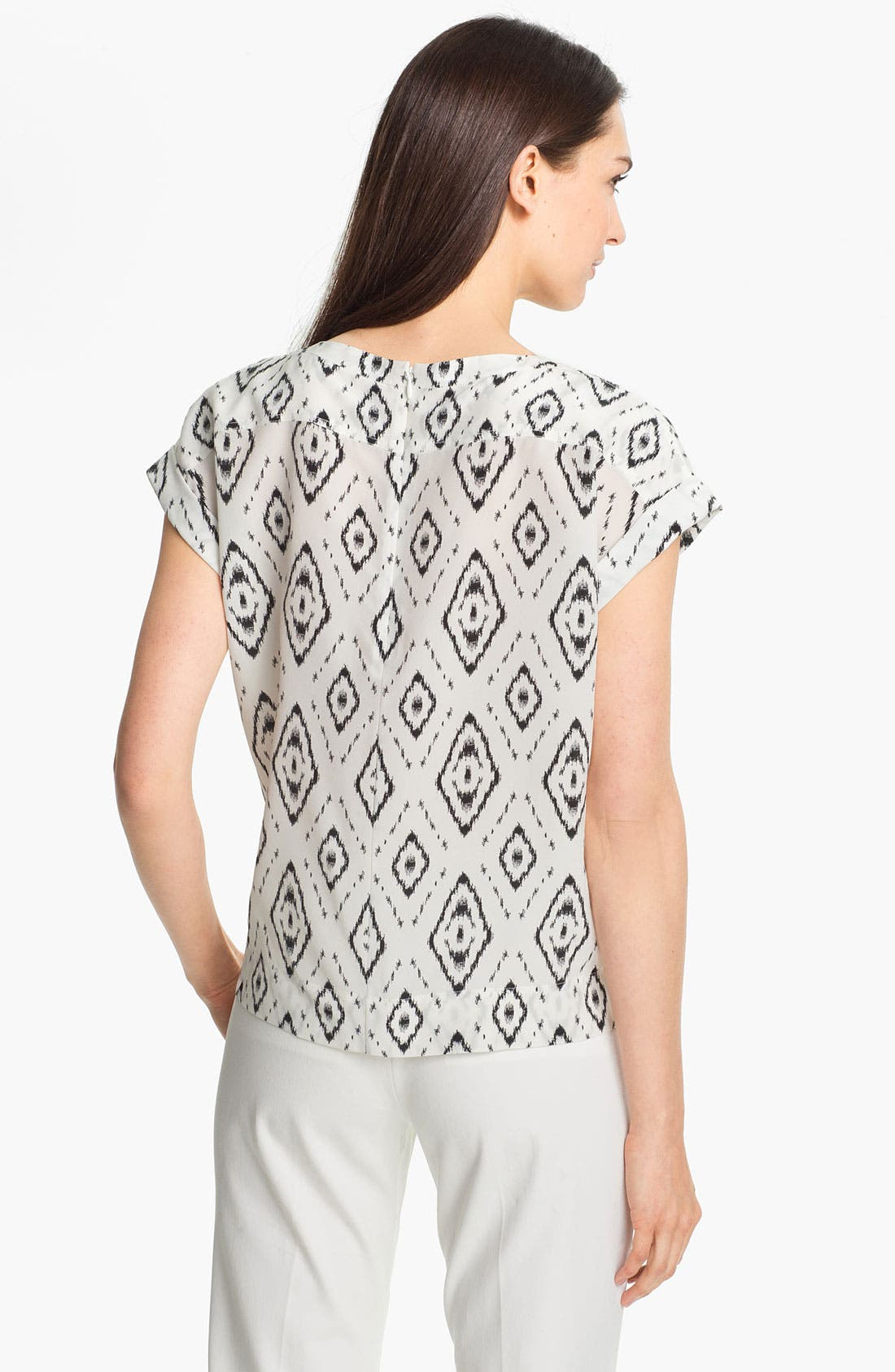 Alternate Image 2  - Theory 'Sorcha' Print Silk Top