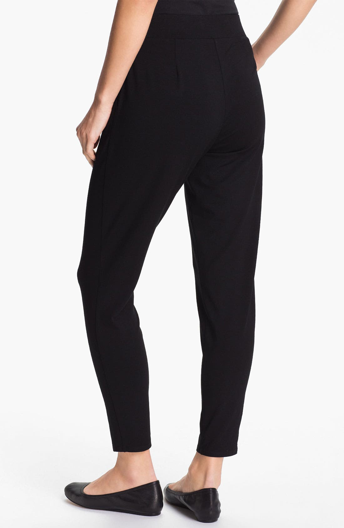 Alternate Image 2  - Eileen Fisher Slouchy Tapered Pants (Regular & Petite)