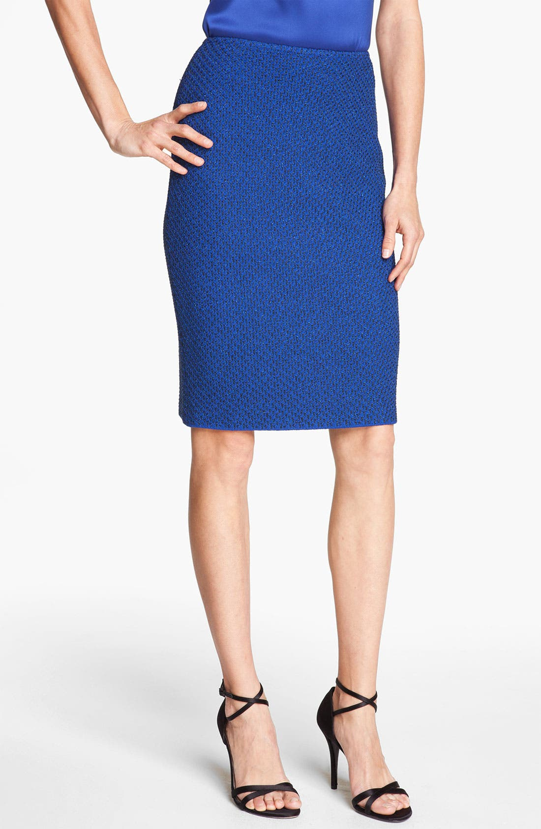 Alternate Image 1 Selected - St. John Collection Ivy Tweed Pencil Skirt