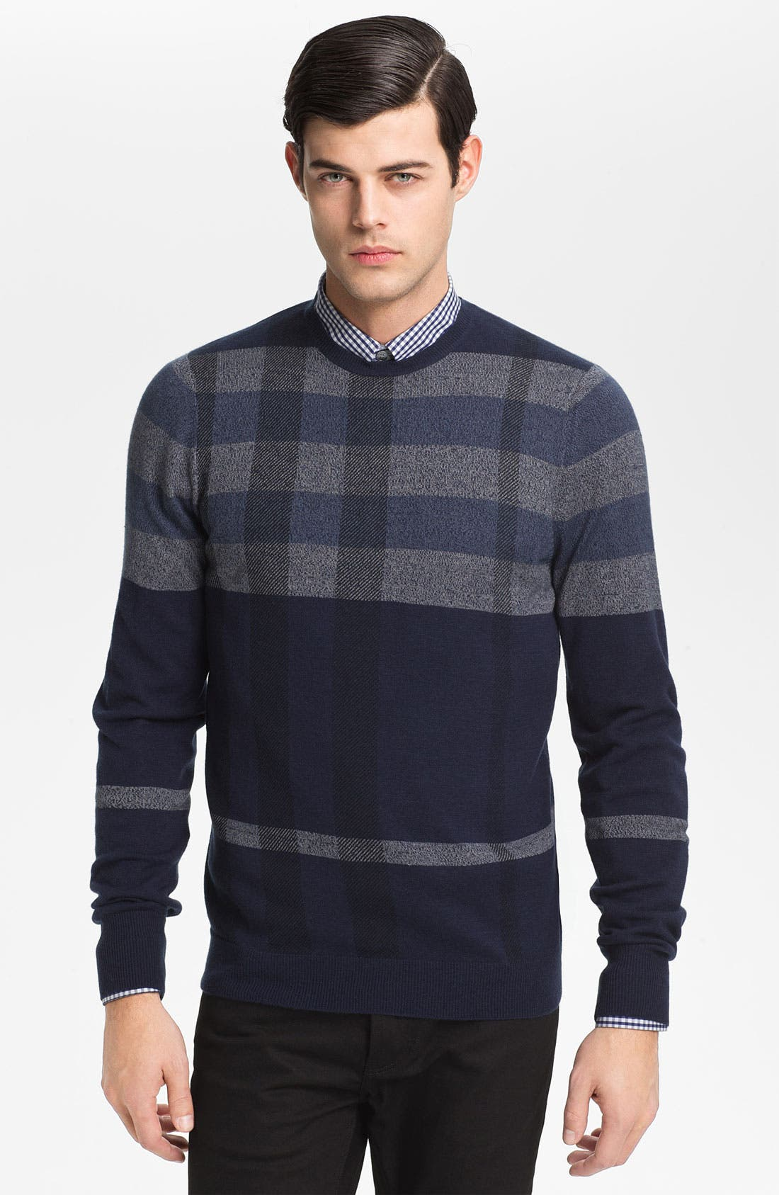 Alternate Image 1 Selected - Burberry London 'Patrick' Wool Blend Sweater