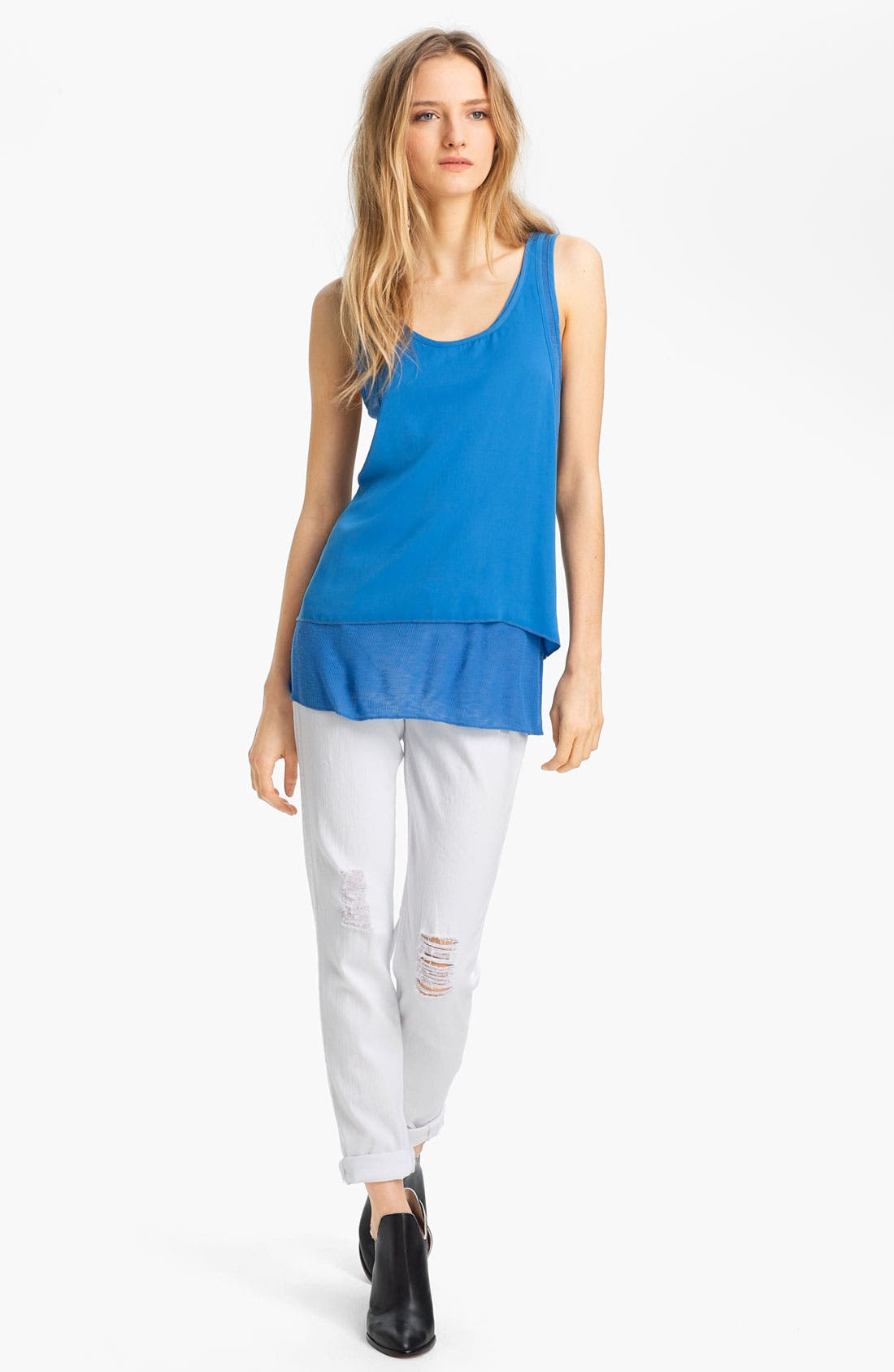 Alternate Image 1 Selected - rag & bone 'Zuzanna' Racerback Tank