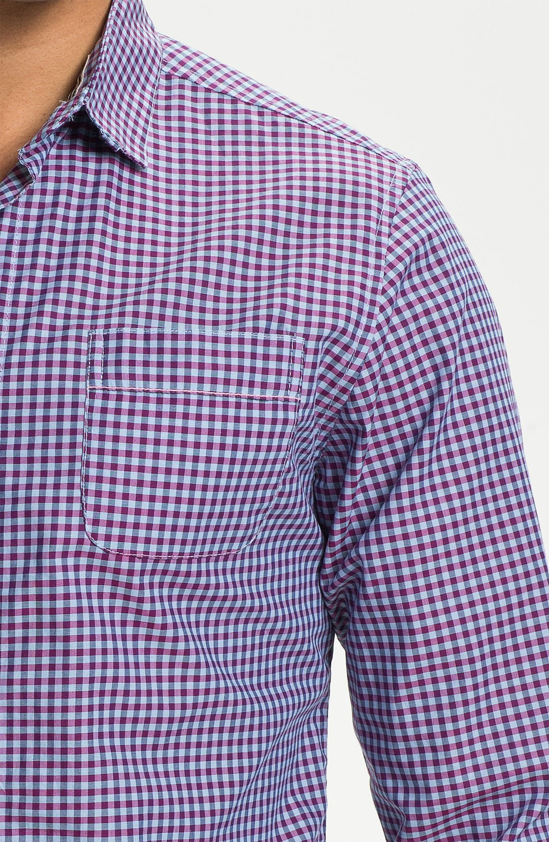 Alternate Image 3  - Descendant of Thieves Gingham Shirt