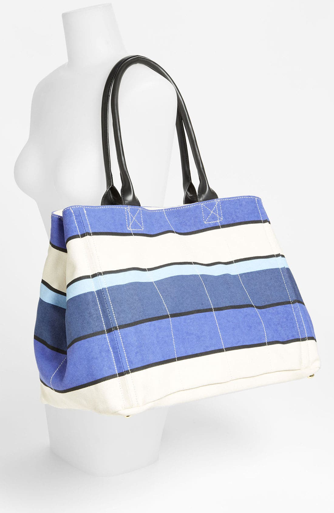 Alternate Image 2  - Tarnish Stripe Canvas Tote