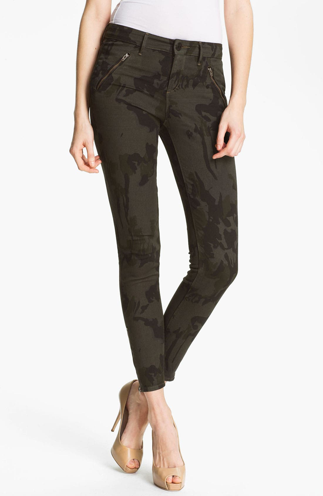 Main Image - Habitual 'Amalia' Digital Camo Print Stretch Jeans