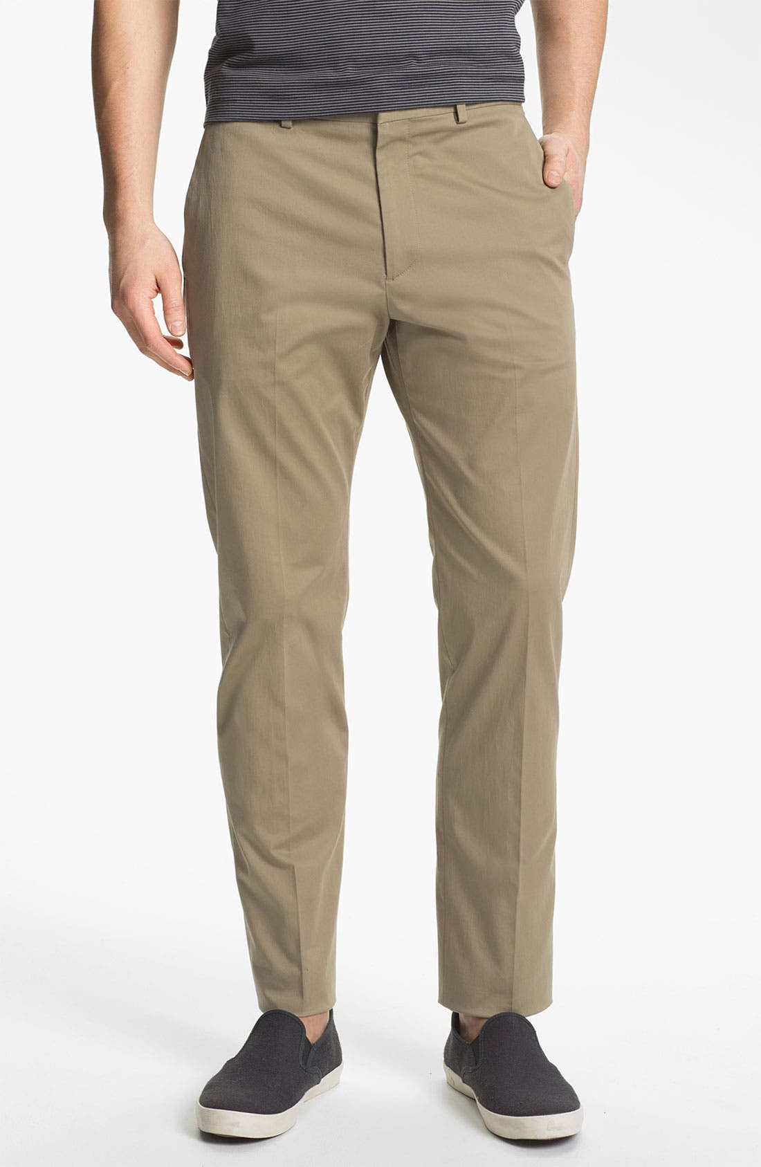 Alternate Image 1 Selected - Theory 'Jake W Ridott' Slim Cotton Blend Pants