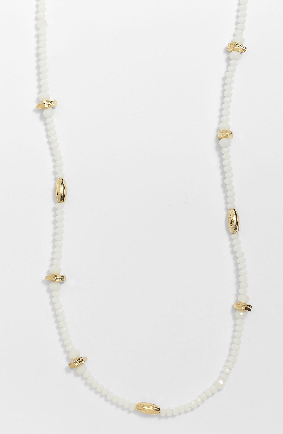 Alternate Image 1 Selected - Nordstrom Long Bead Necklace