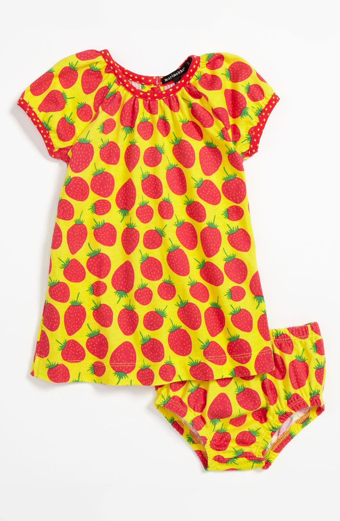 Alternate Image 1 Selected - Marimekko Dress & Bloomers (Baby)