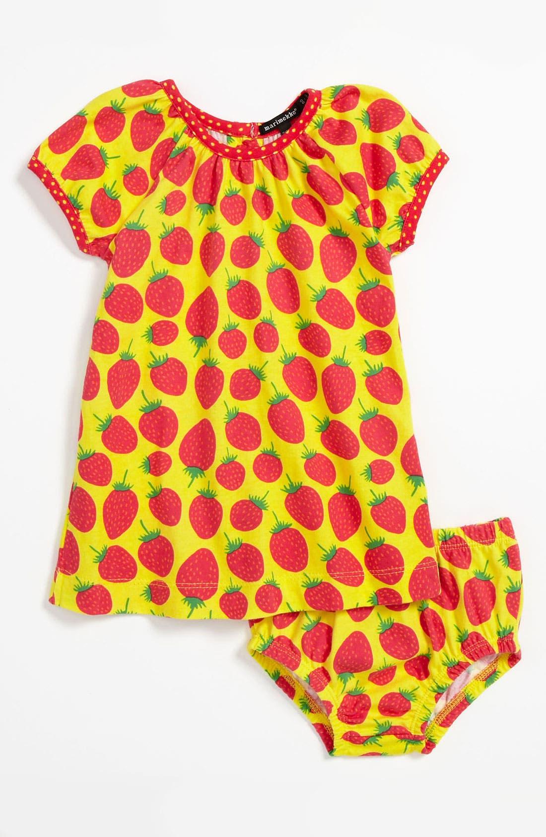 Main Image - Marimekko Dress & Bloomers (Baby)