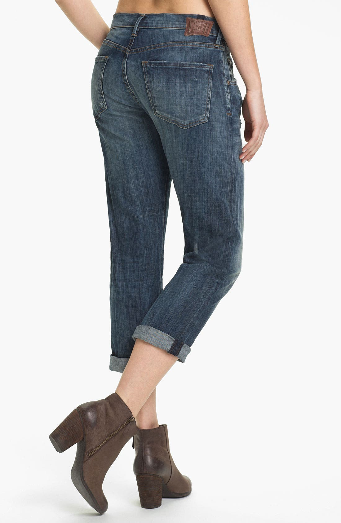 Alternate Image 2  - Citizens of Humanity 'Dylan' Crop Relaxed Fit Jeans (Drama)