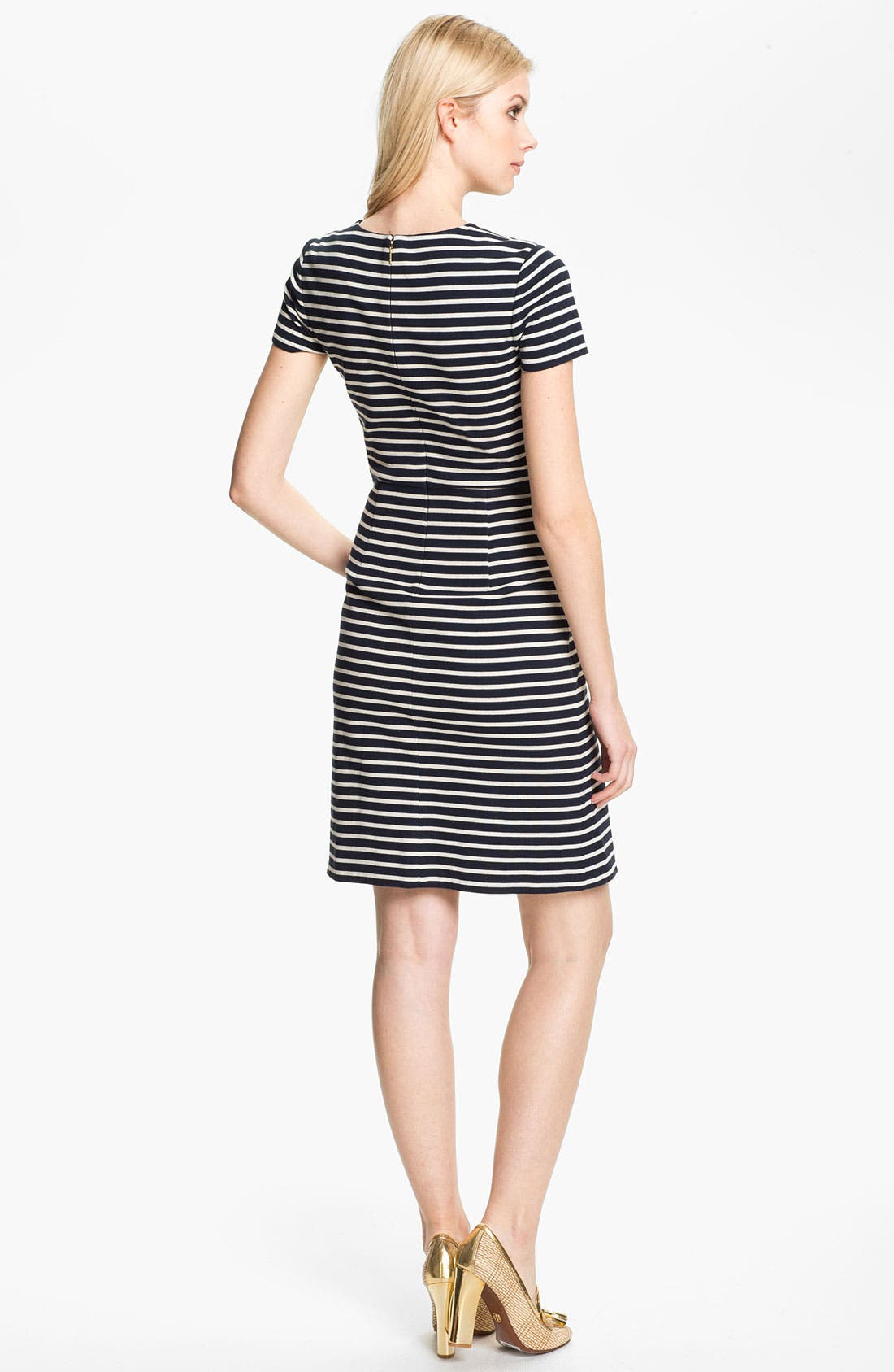 Alternate Image 2  - Tory Burch 'Kamilla' Cotton Shift Dress