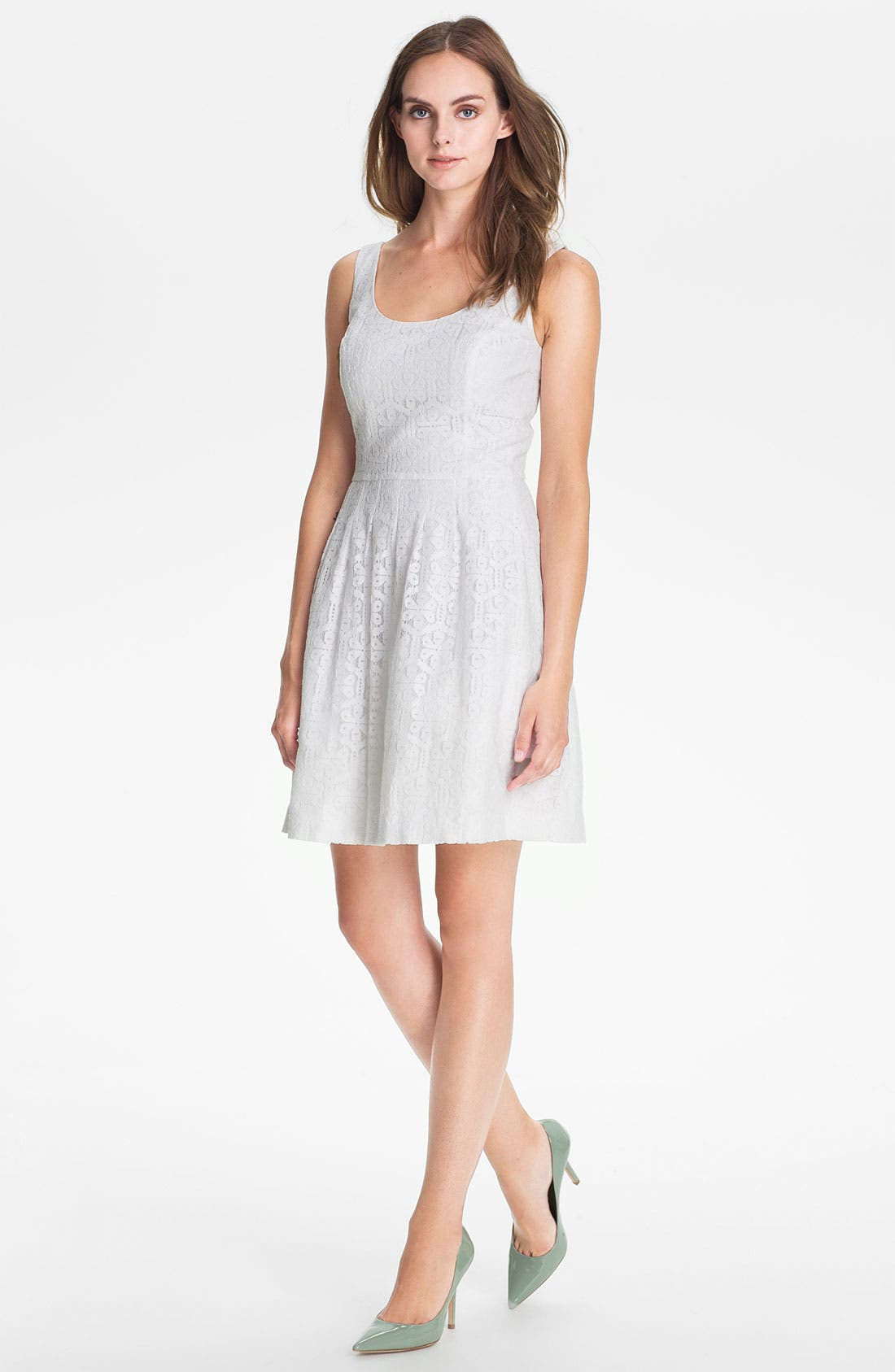 Alternate Image 1 Selected - Lilly Pulitzer® 'Posey' Lace Fit & Flare Dress