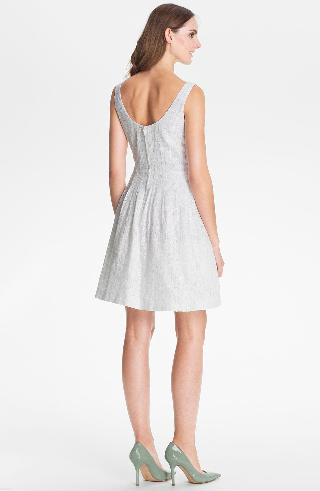 Alternate Image 2  - Lilly Pulitzer® 'Posey' Lace Fit & Flare Dress