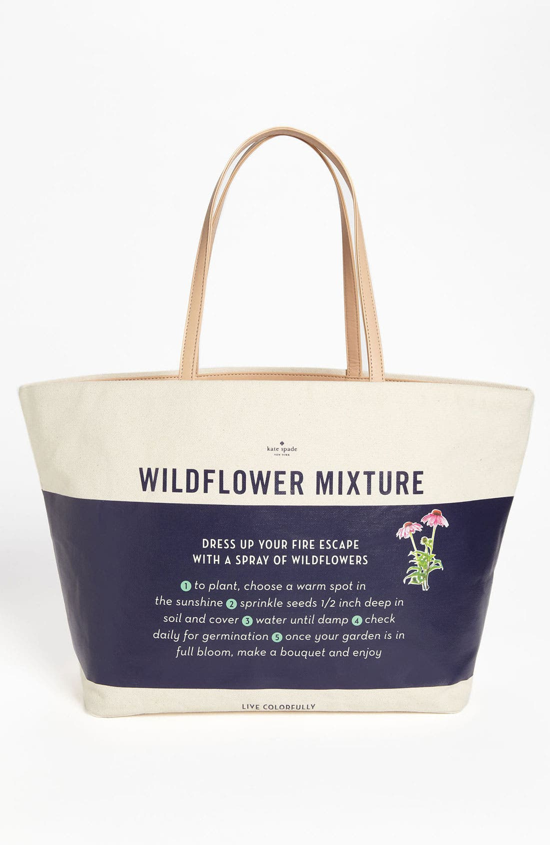 Alternate Image 4  - kate spade new york 'wildflowers - harmony' tote