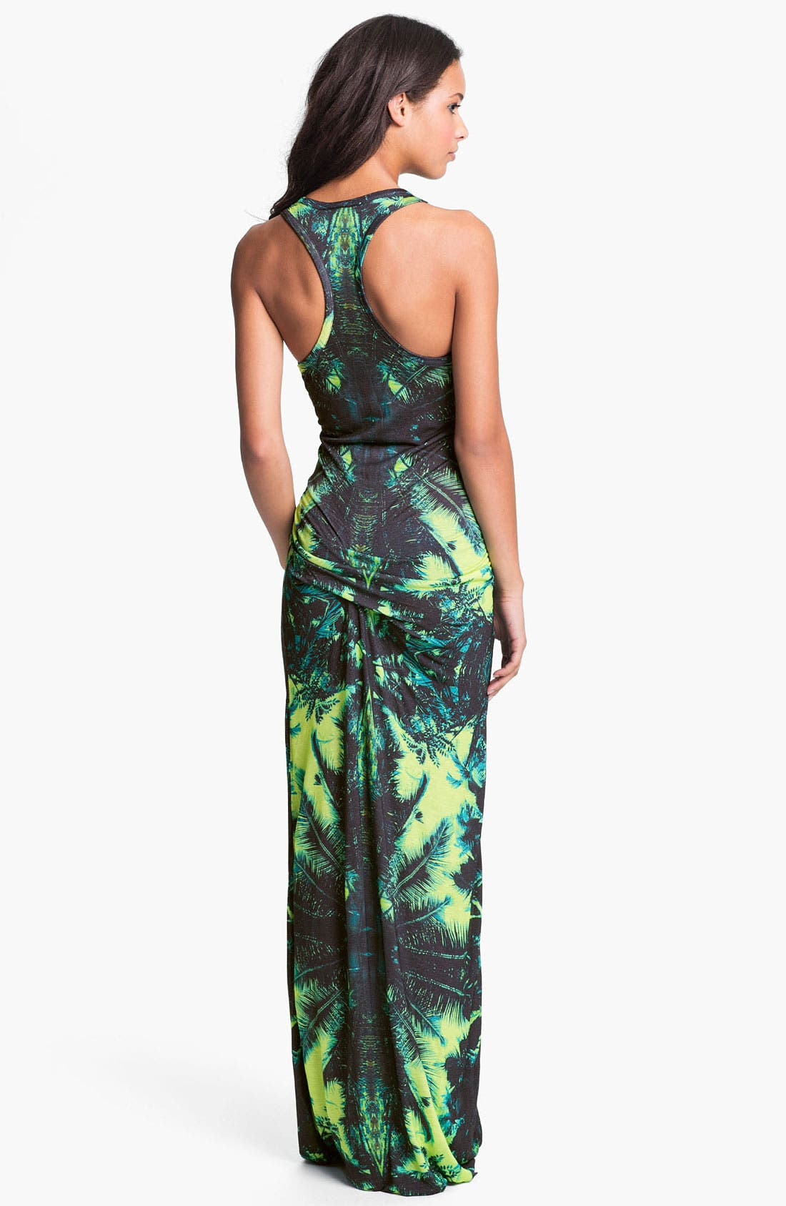 Alternate Image 2  - Young, Fabulous & Broke 'Hamptons' Print Racerback Maxi Dress