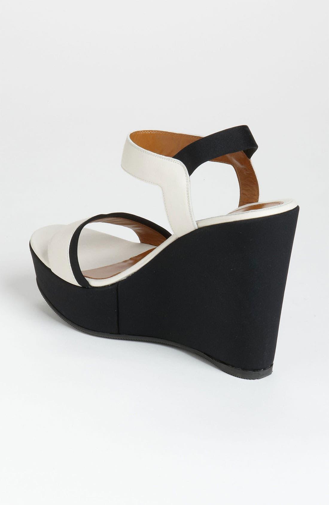 Alternate Image 2  - Fendi Ankle Strap Wedge Sandal
