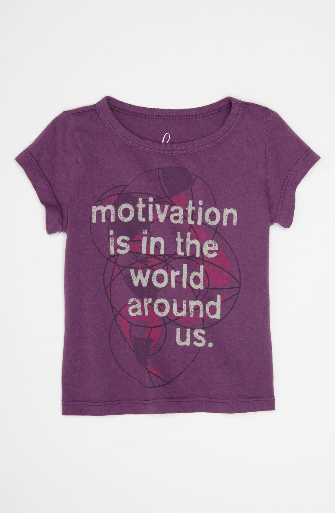 Main Image - Peek 'Motivation' Tee (Baby)
