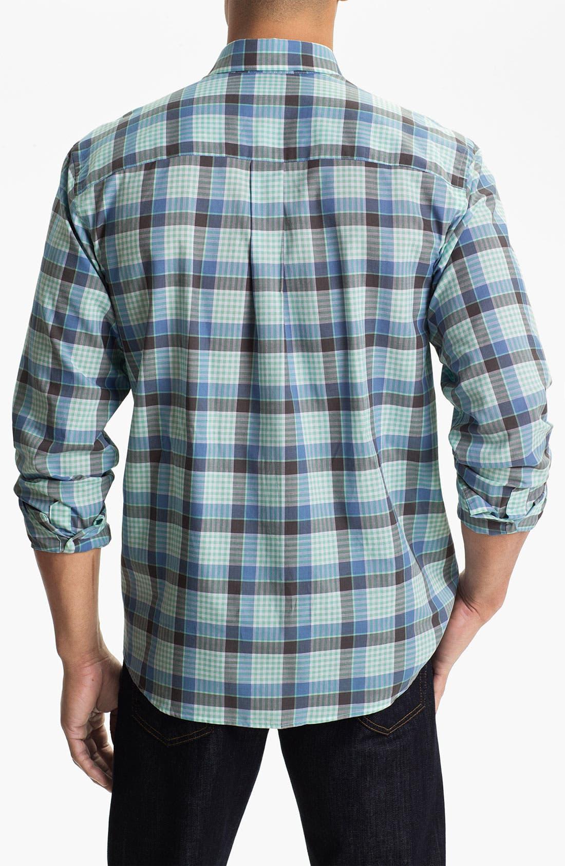 Alternate Image 2  - Cutter & Buck 'Tabor Plaid' Regular Fit Sport Shirt