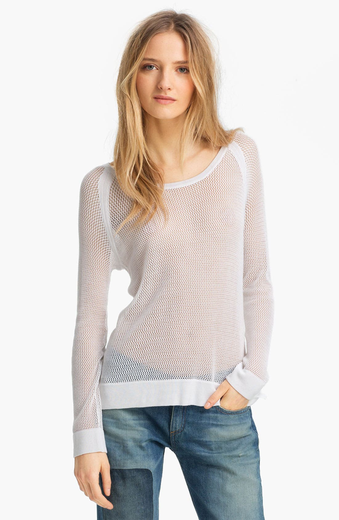 Alternate Image 1 Selected - rag & bone/JEAN Raglan Pullover
