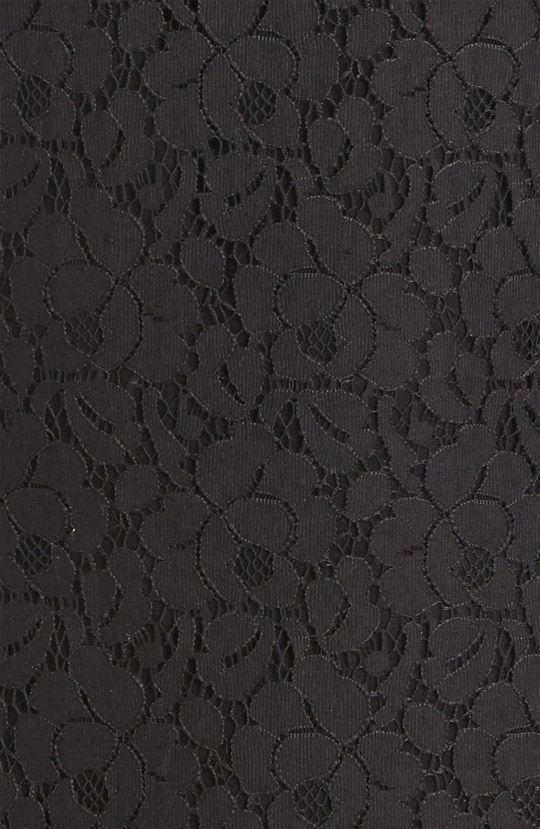 Alternate Image 4  - RBL Open Back Lace Dress
